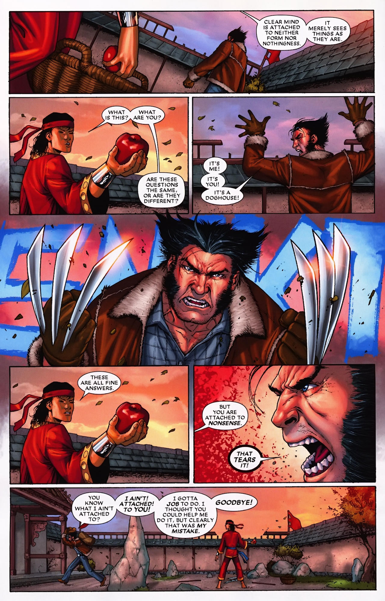 Read online Wolverine: First Class comic -  Issue #9 - 12
