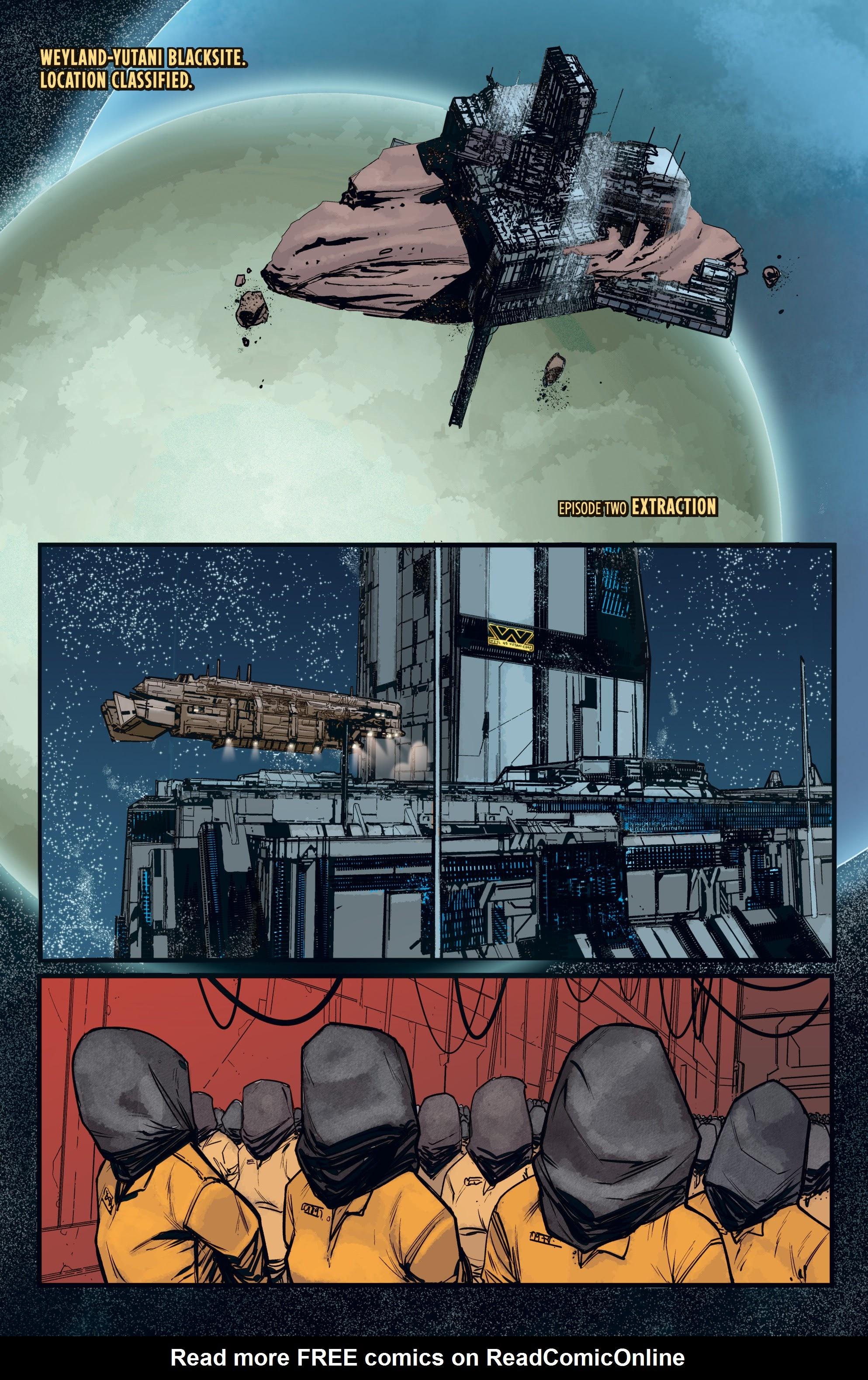 Read online Aliens: Resistance comic -  Issue # _TPB - 29