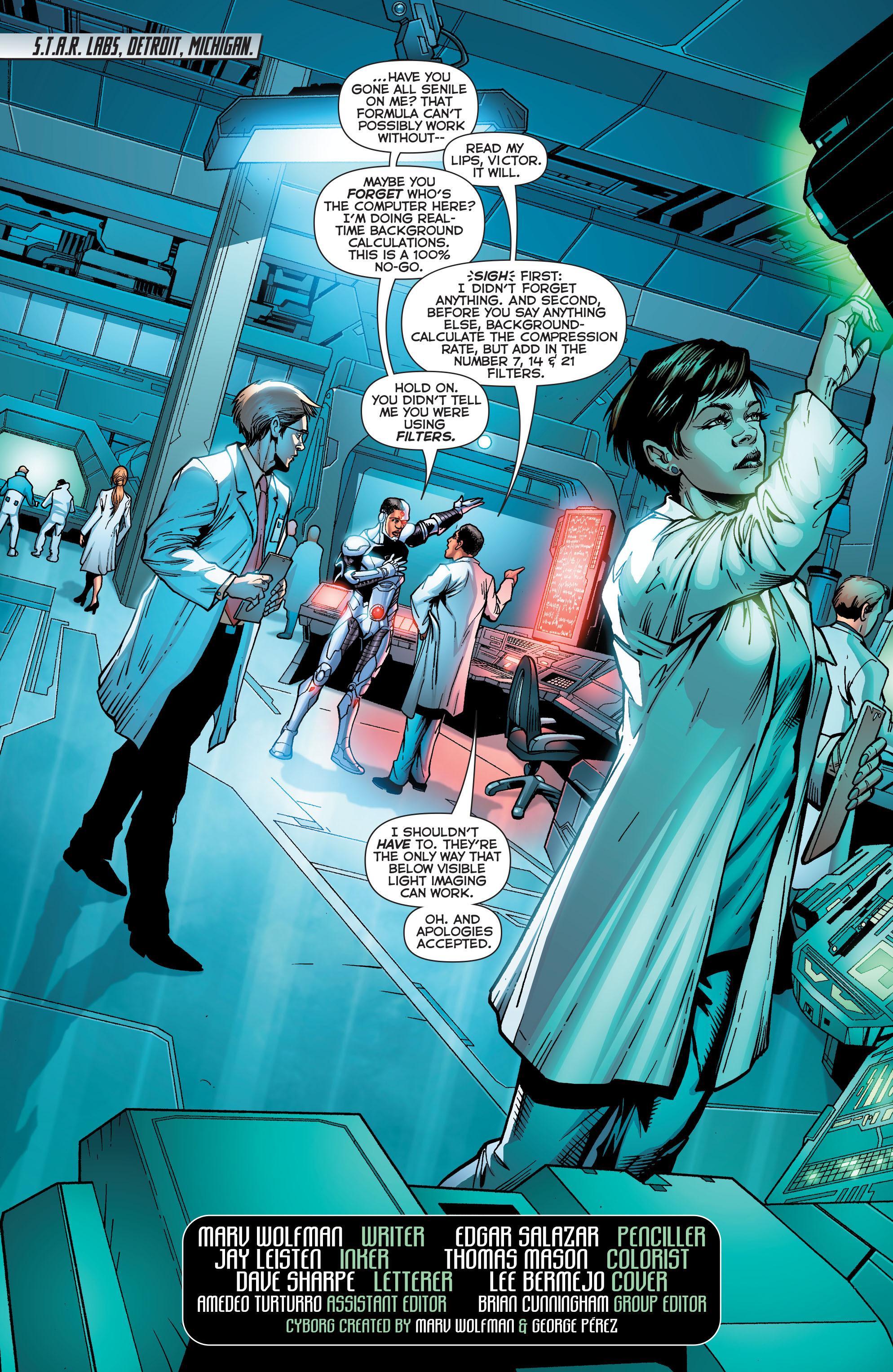 Read online Secret Origins (2014) comic -  Issue #5 - 2
