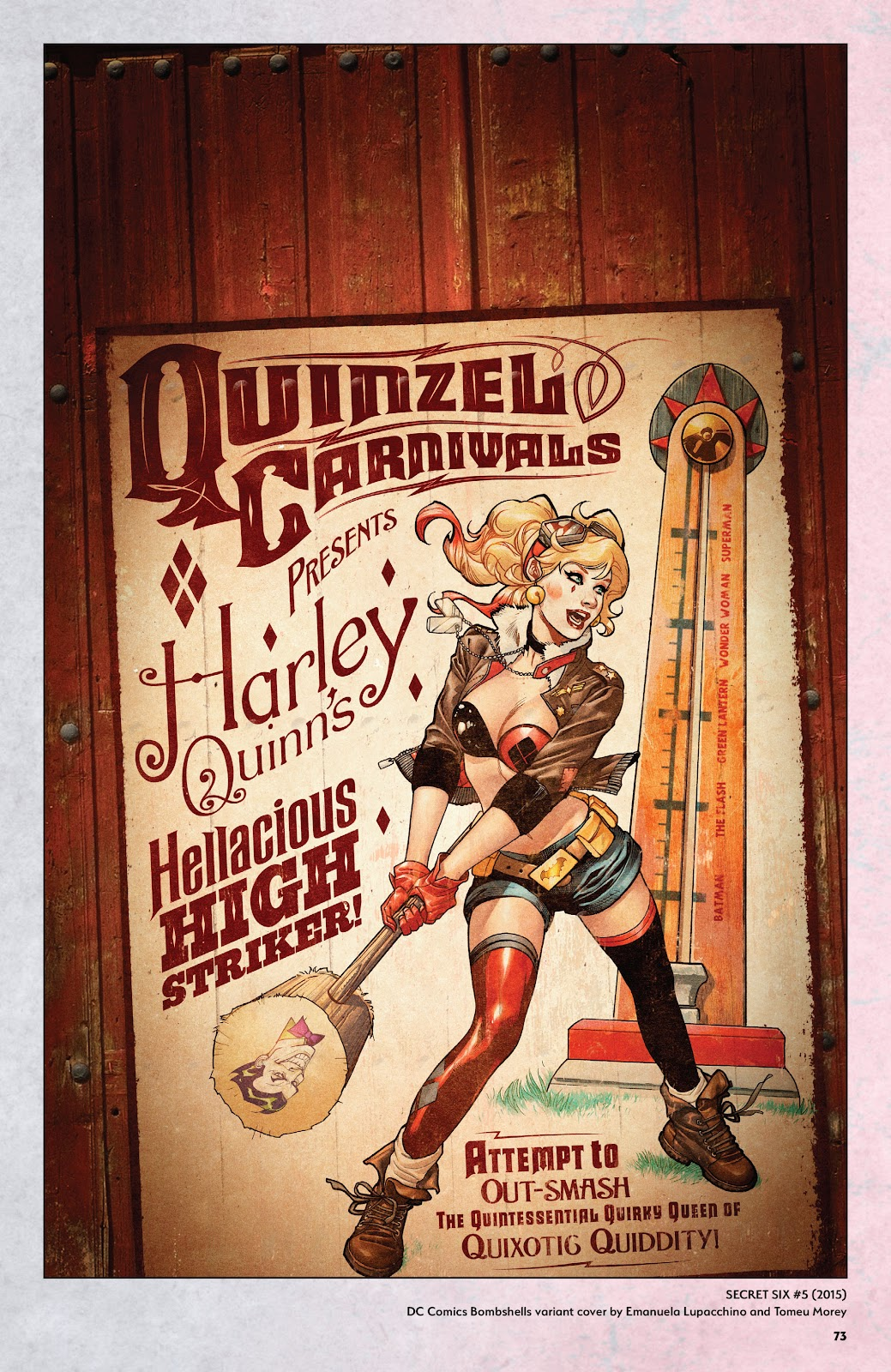 Read online Harley Quinn: A Rogue's Gallery―The Deluxe Cover Art Collection comic -  Issue # TPB (Part 1) - 70
