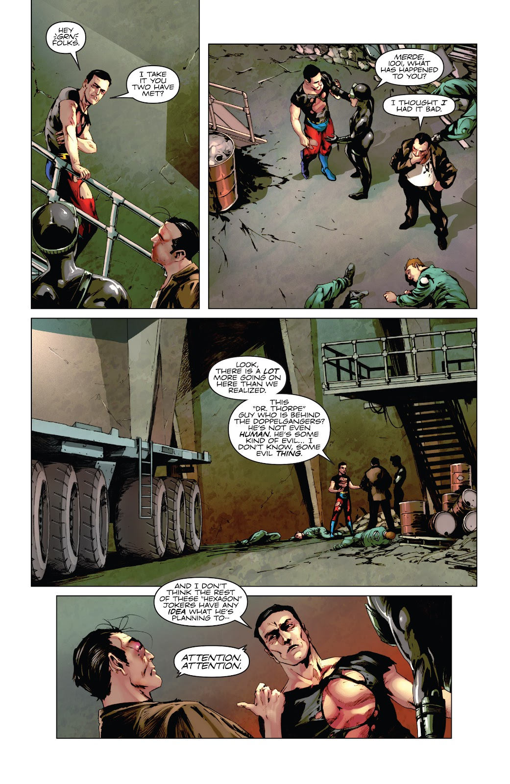 Read online Codename: Action comic -  Issue #5 - 10