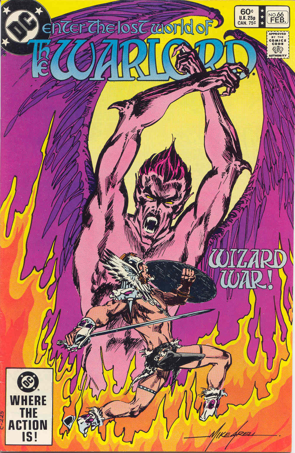 Warlord (1976) issue 66 - Page 1
