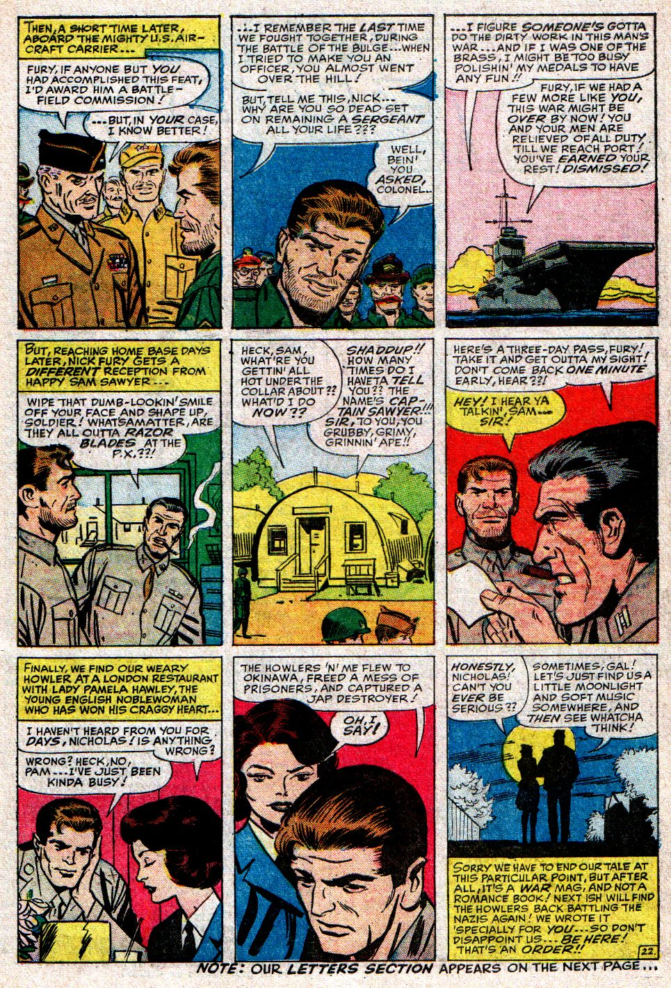 Read online Sgt. Fury comic -  Issue #10 - 31