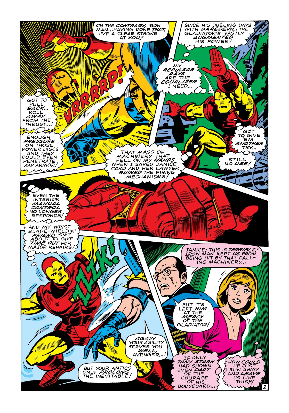 Read online Marvel Masterworks: The Invincible Iron Man comic -  Issue # TPB 5 (Part 2) - 35