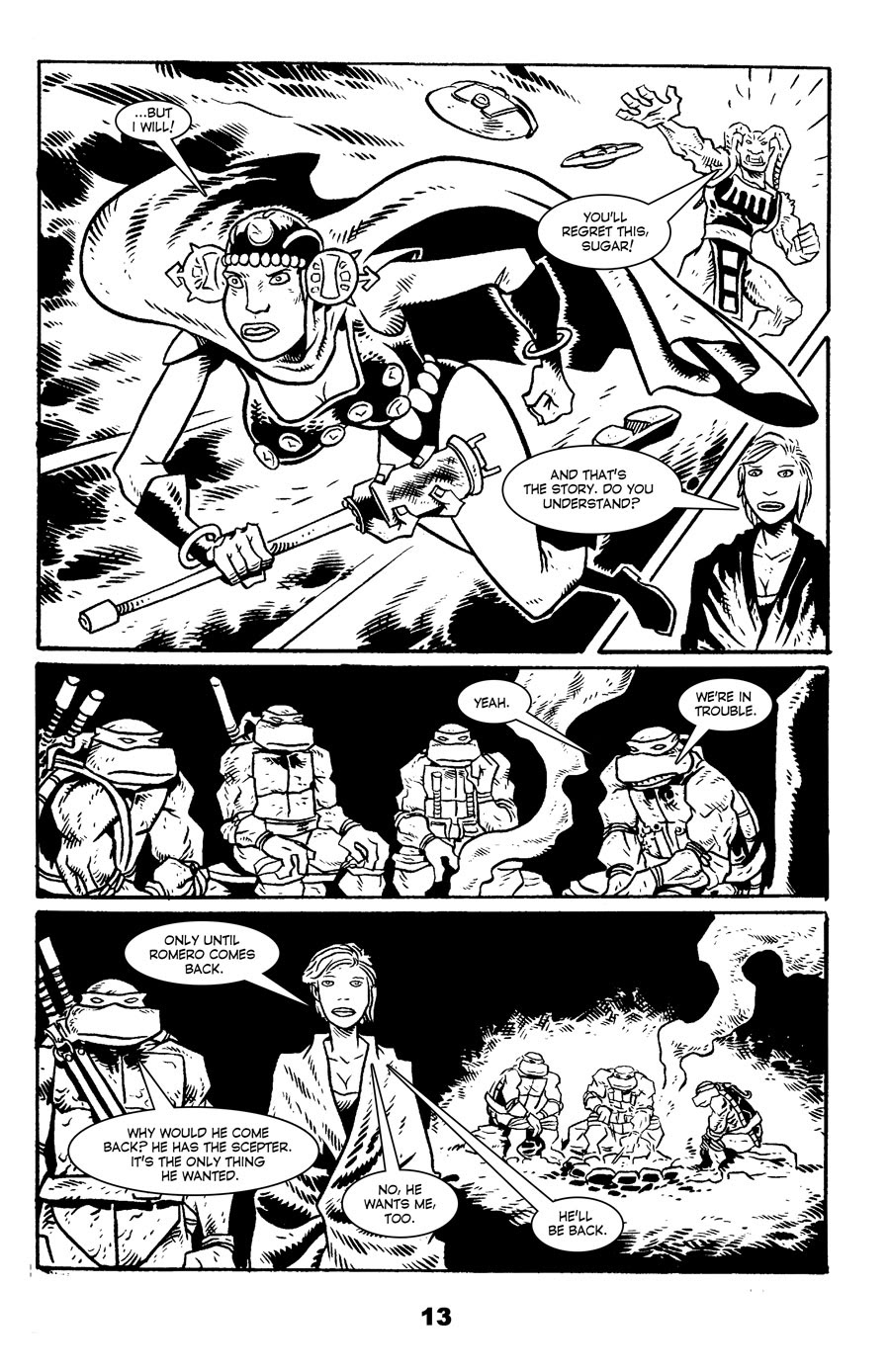 Read online Tales of the TMNT comic -  Issue #71 - 17