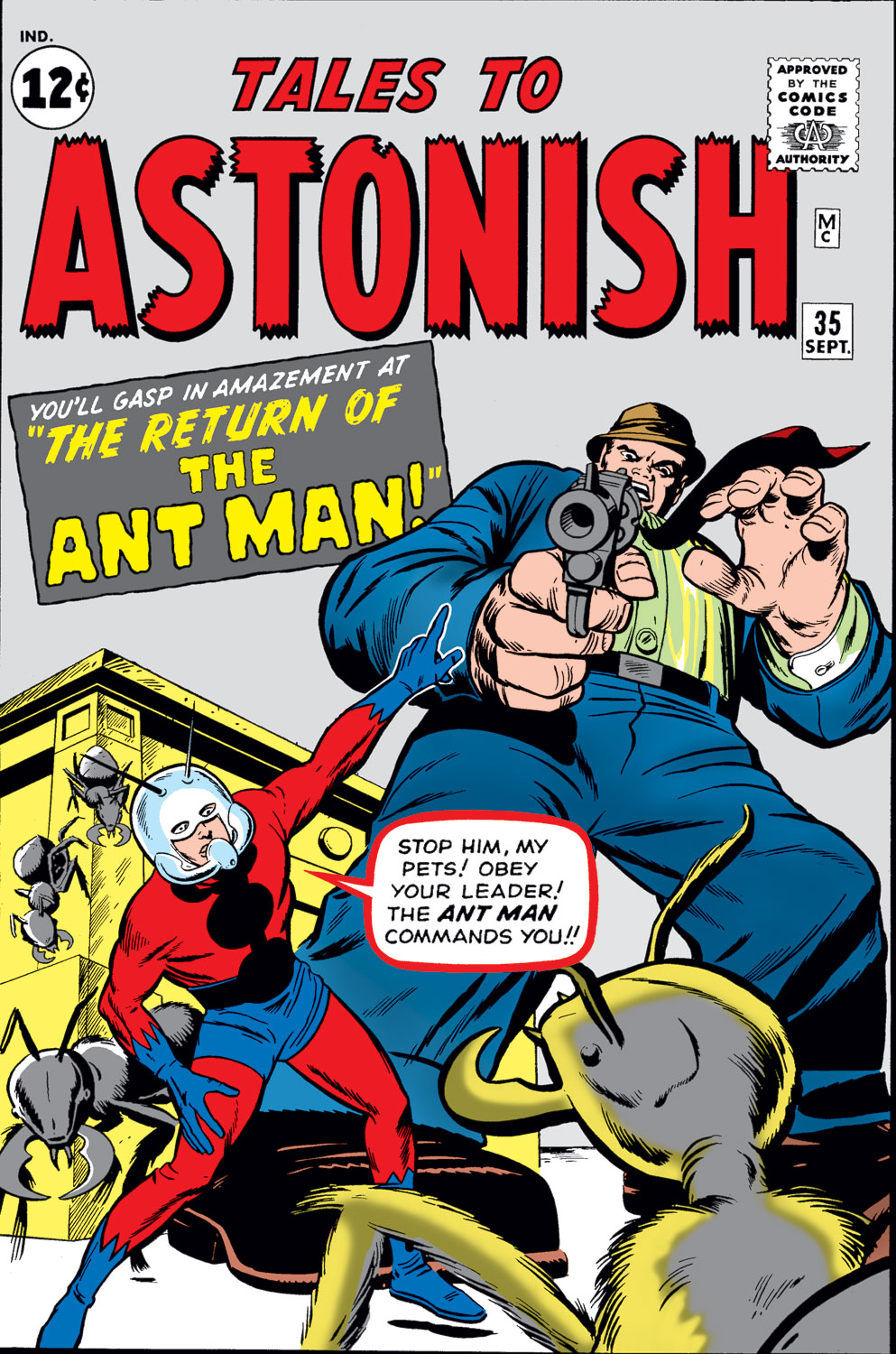 Tales to Astonish (1959) issue 35 - Page 1