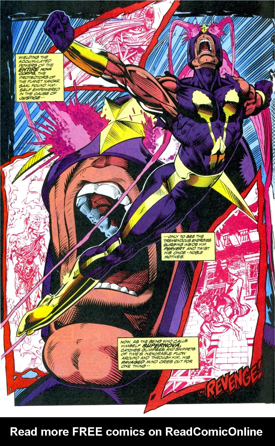 The New Warriors Issue #40 #44 - English 3