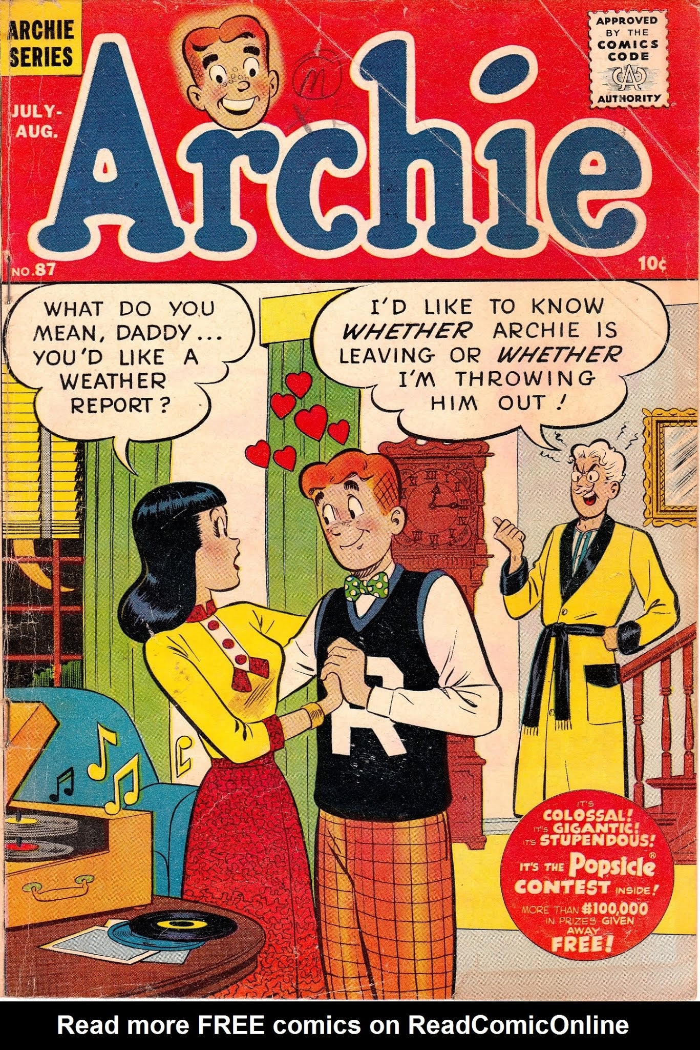 Archie Comics issue 087 - Page 1