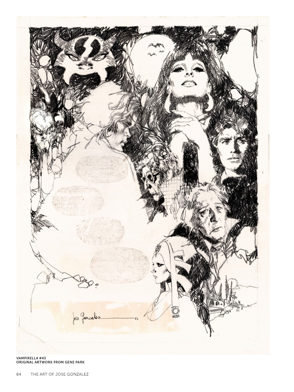 Read online The Art of Jose Gonzalez comic -  Issue # TPB (Part 1) - 85