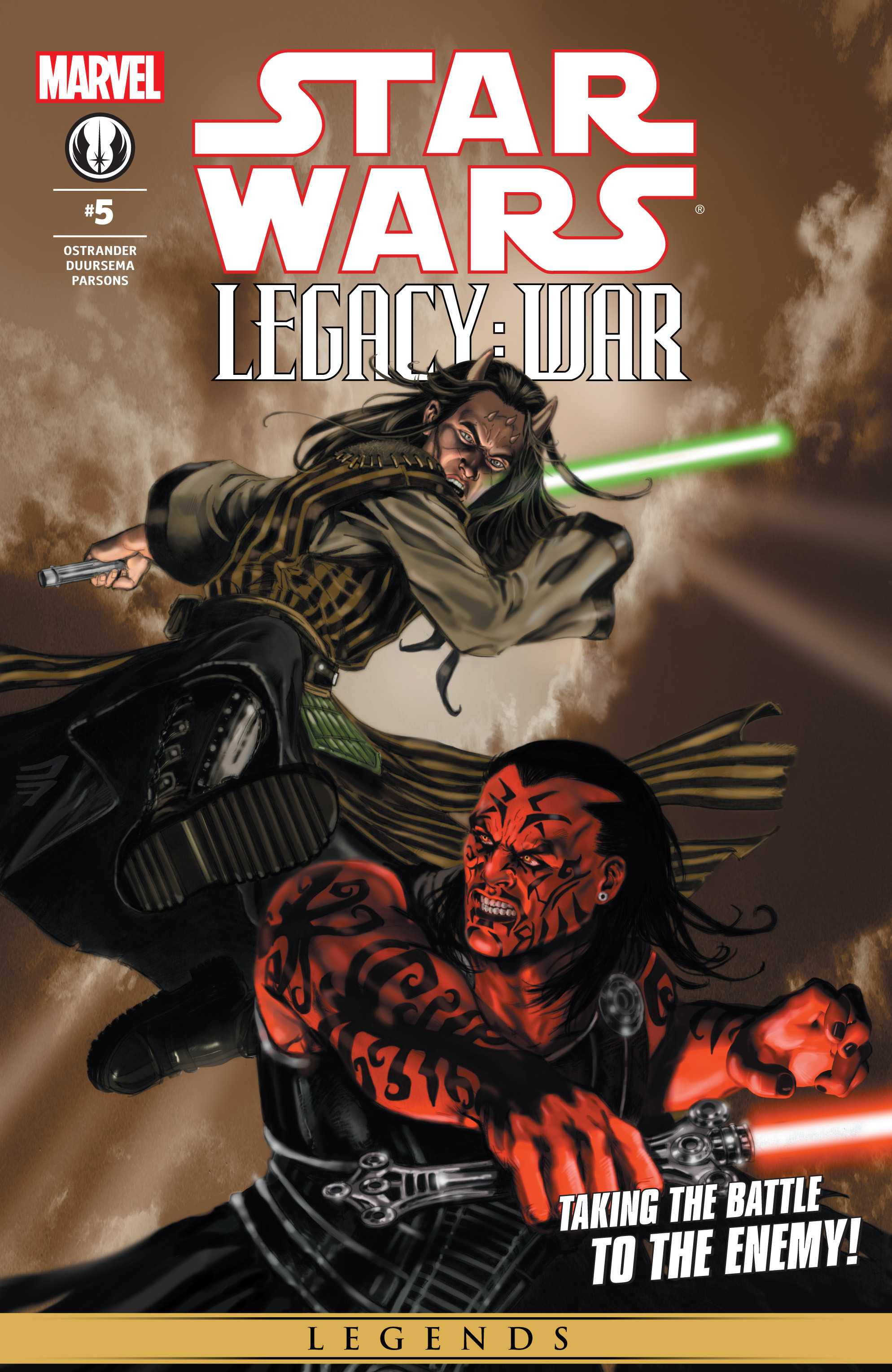 Star Wars: Legacy War issue 5 - Page 1