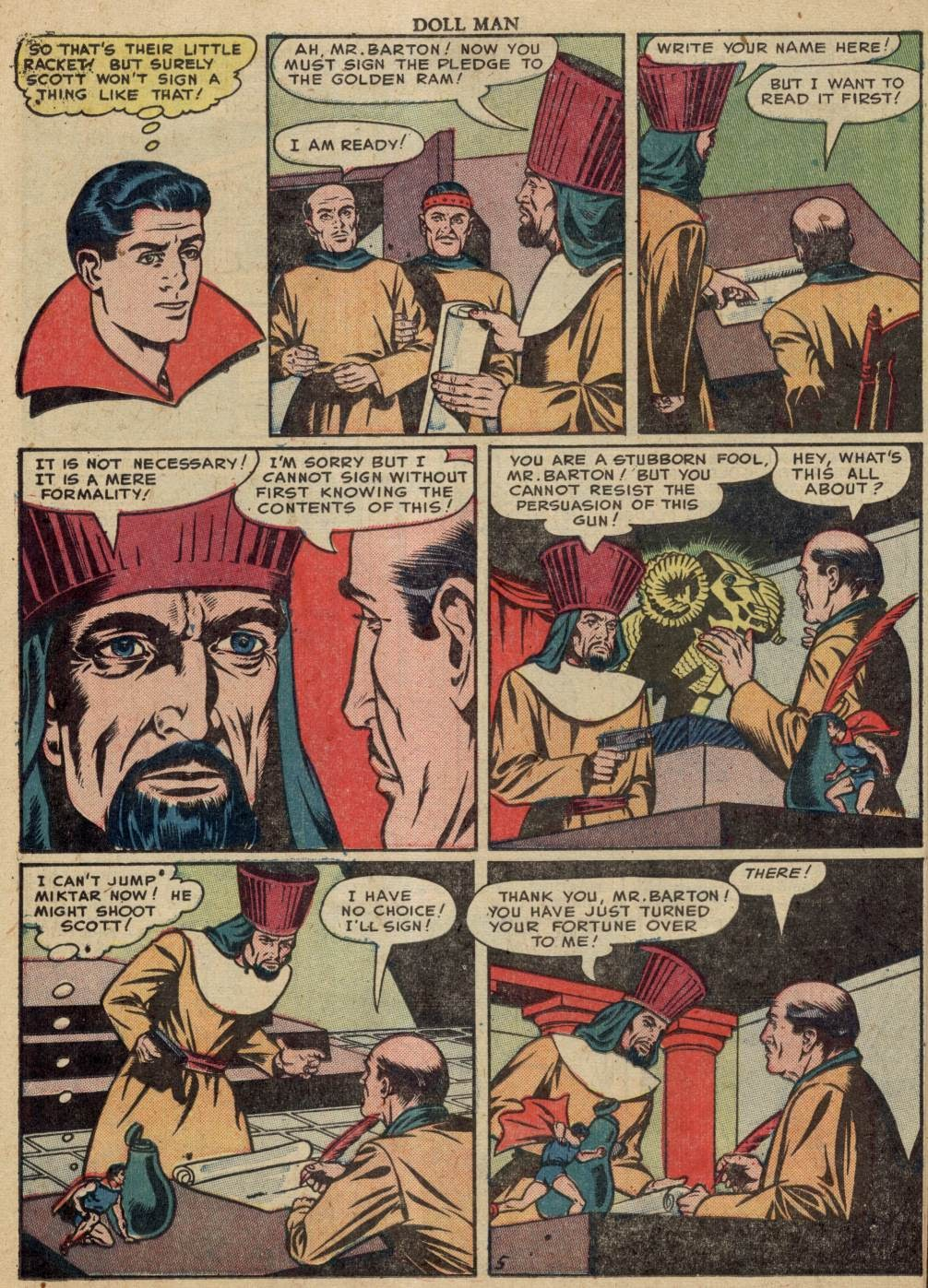 Doll Man issue 37 - Page 22