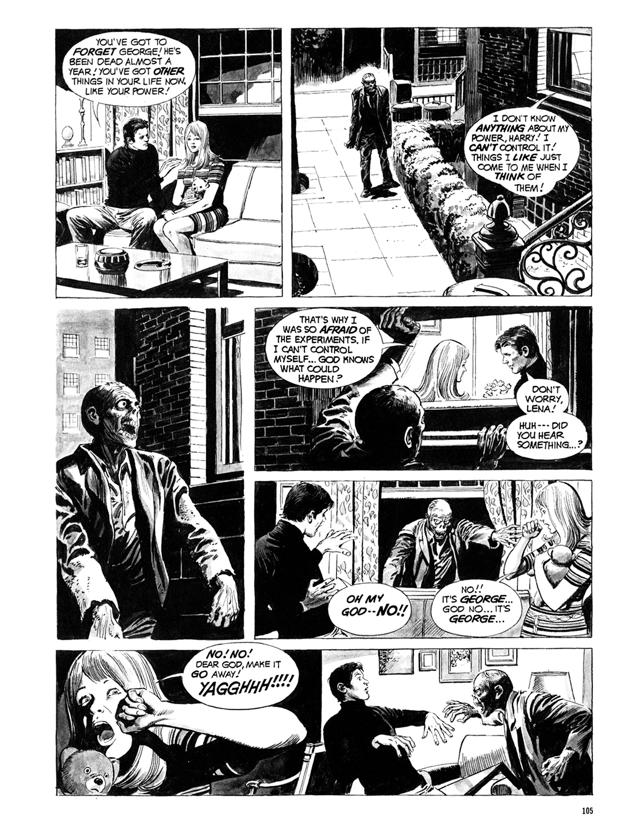Read online Eerie Archives comic -  Issue # TPB 10 - 106