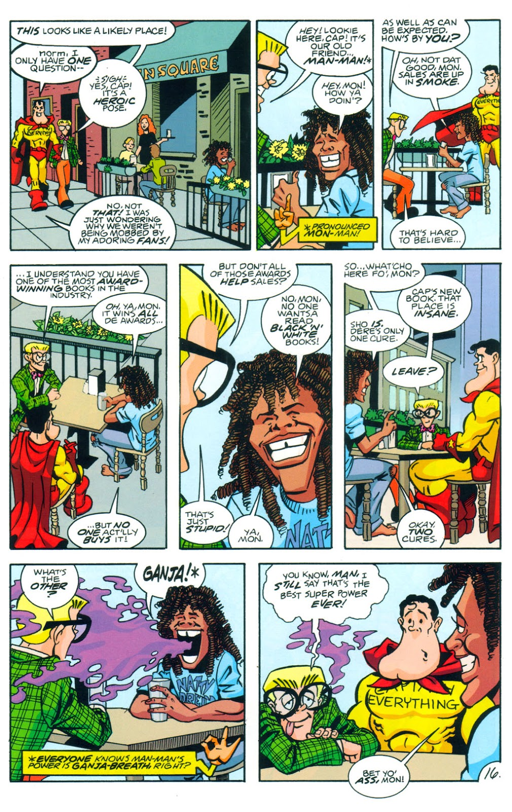 Read online Normalman 20th Anniversary Special comic -  Issue # Full - 18