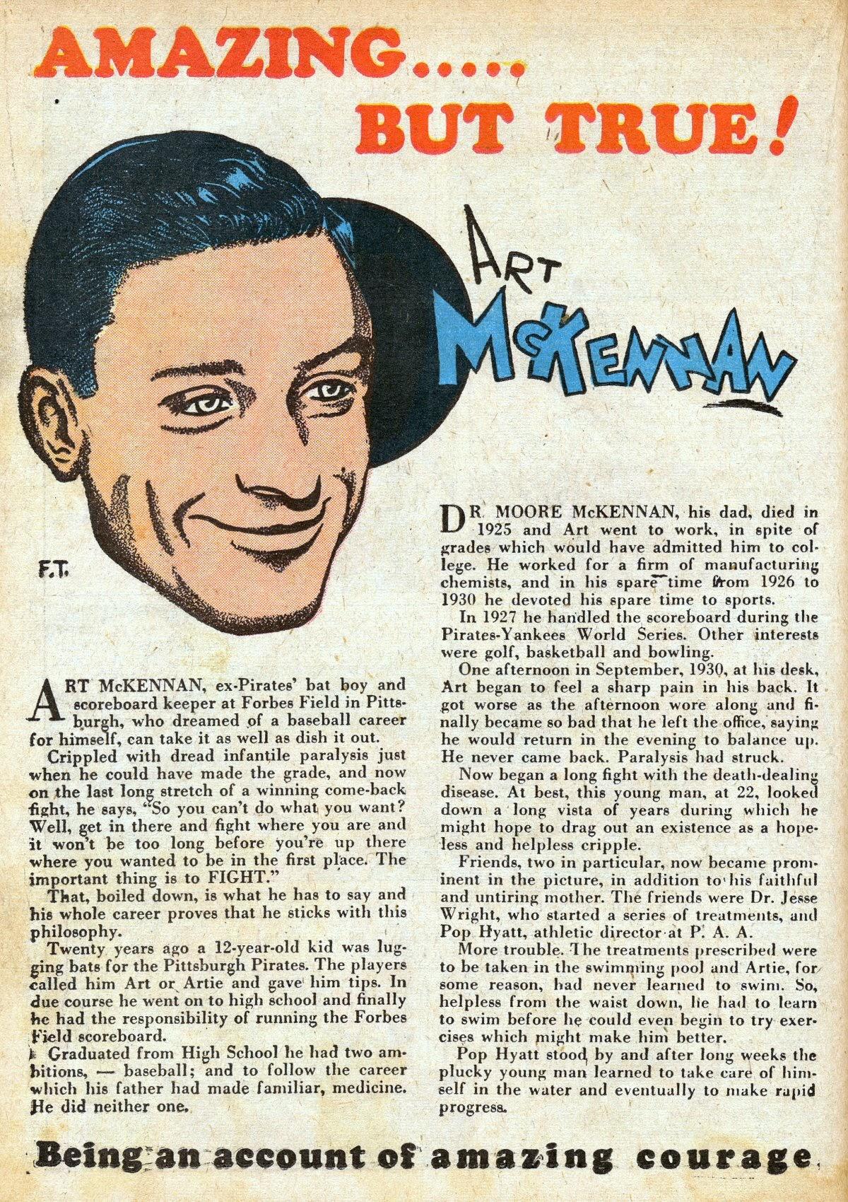 Read online Amazing Man Comics comic -  Issue #16 - 34