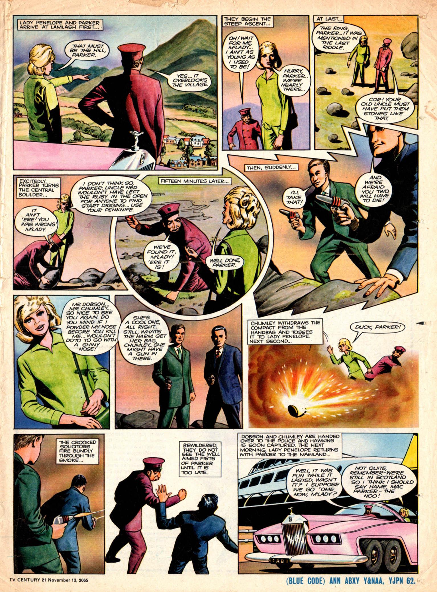 Read online TV Century 21 (TV 21) comic -  Issue #43 - 16
