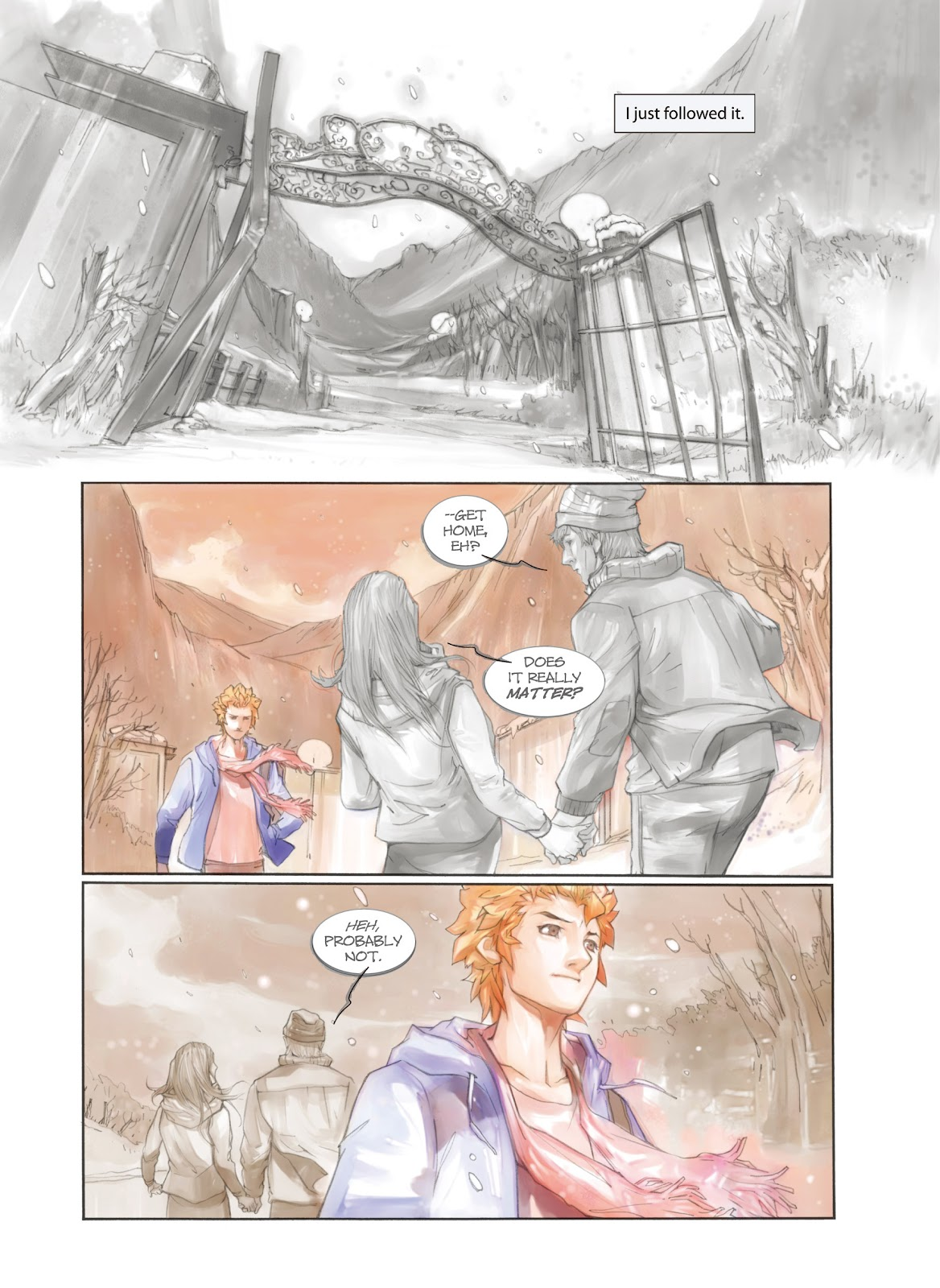 Read online Makeshift Miracle: The Girl From Nowhere comic -  Issue #1 - 9