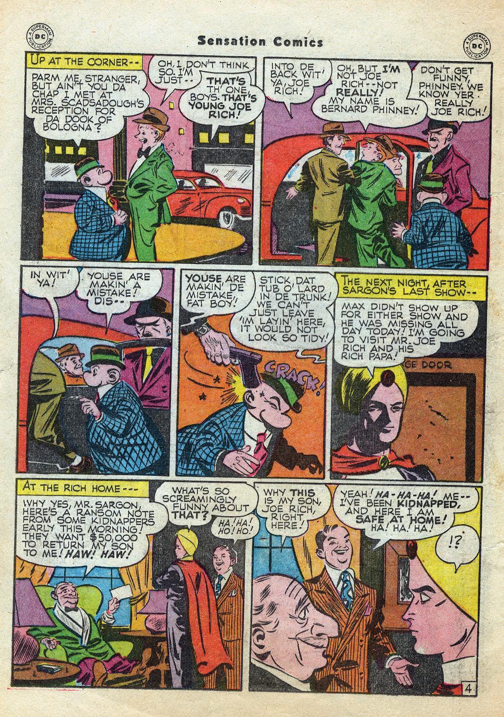 Read online Sensation (Mystery) Comics comic -  Issue #60 - 28