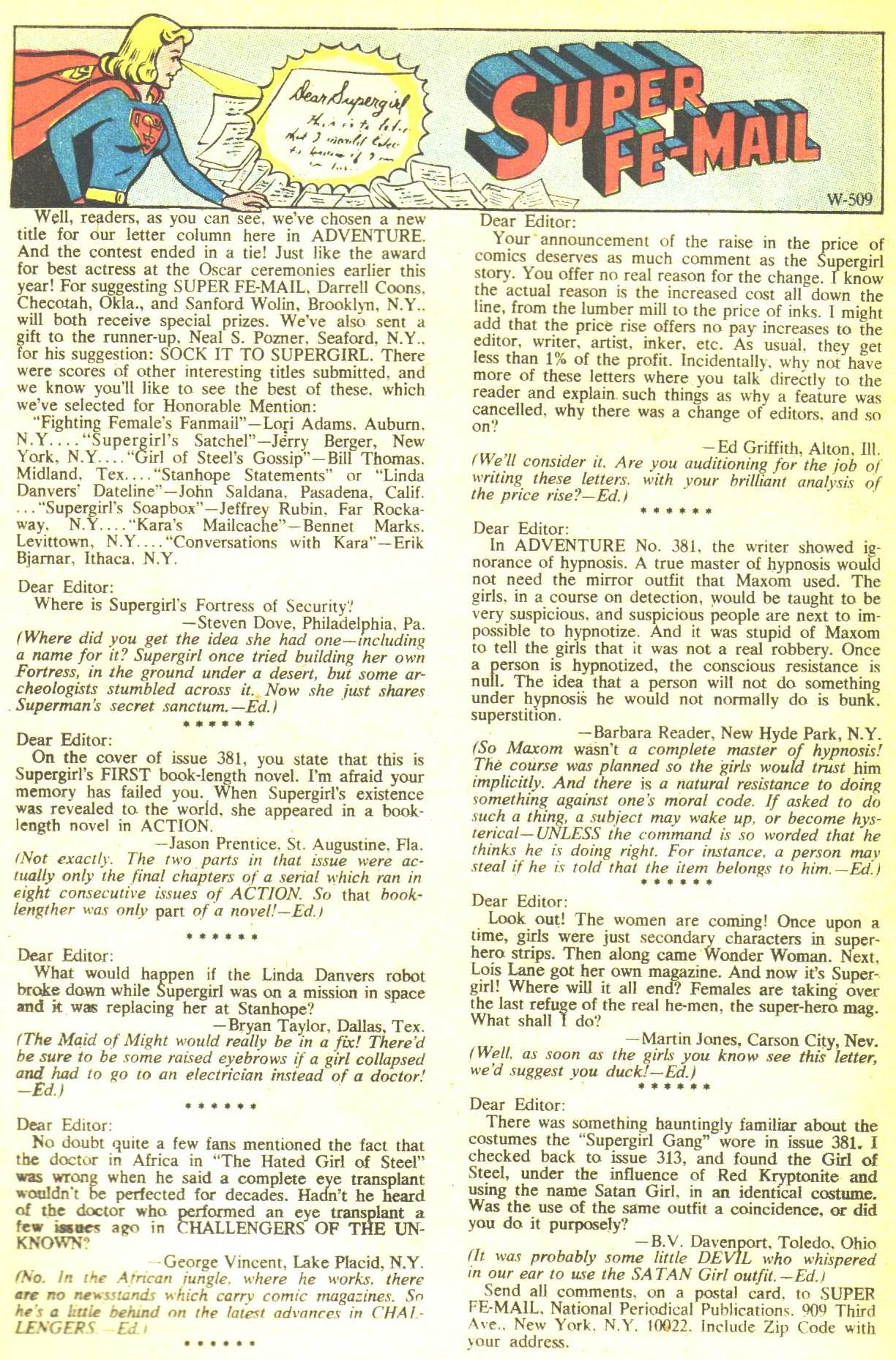 Read online Adventure Comics (1938) comic -  Issue #385 - 22