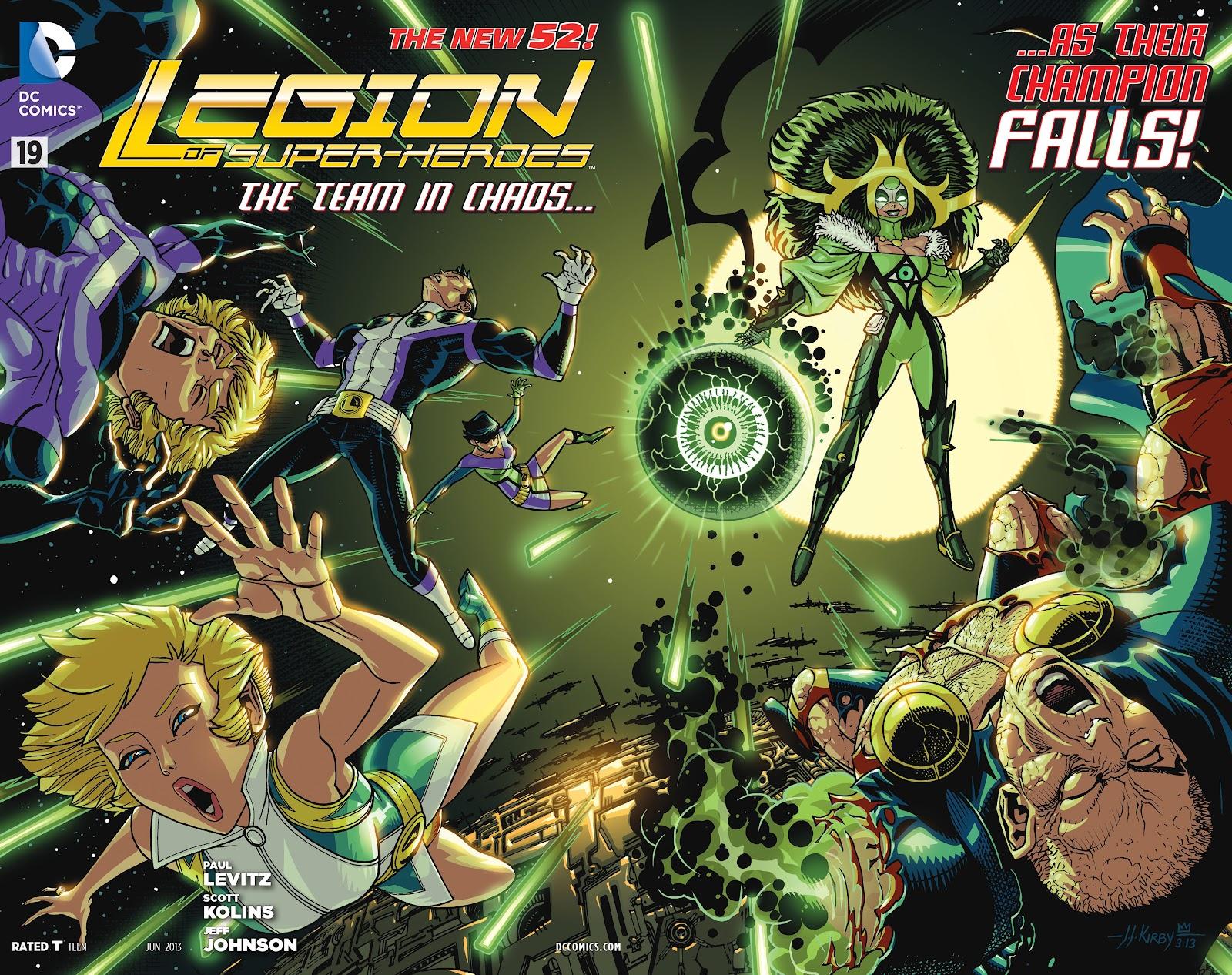 Legion of Super-Heroes (2011) Issue #19 #20 - English 2