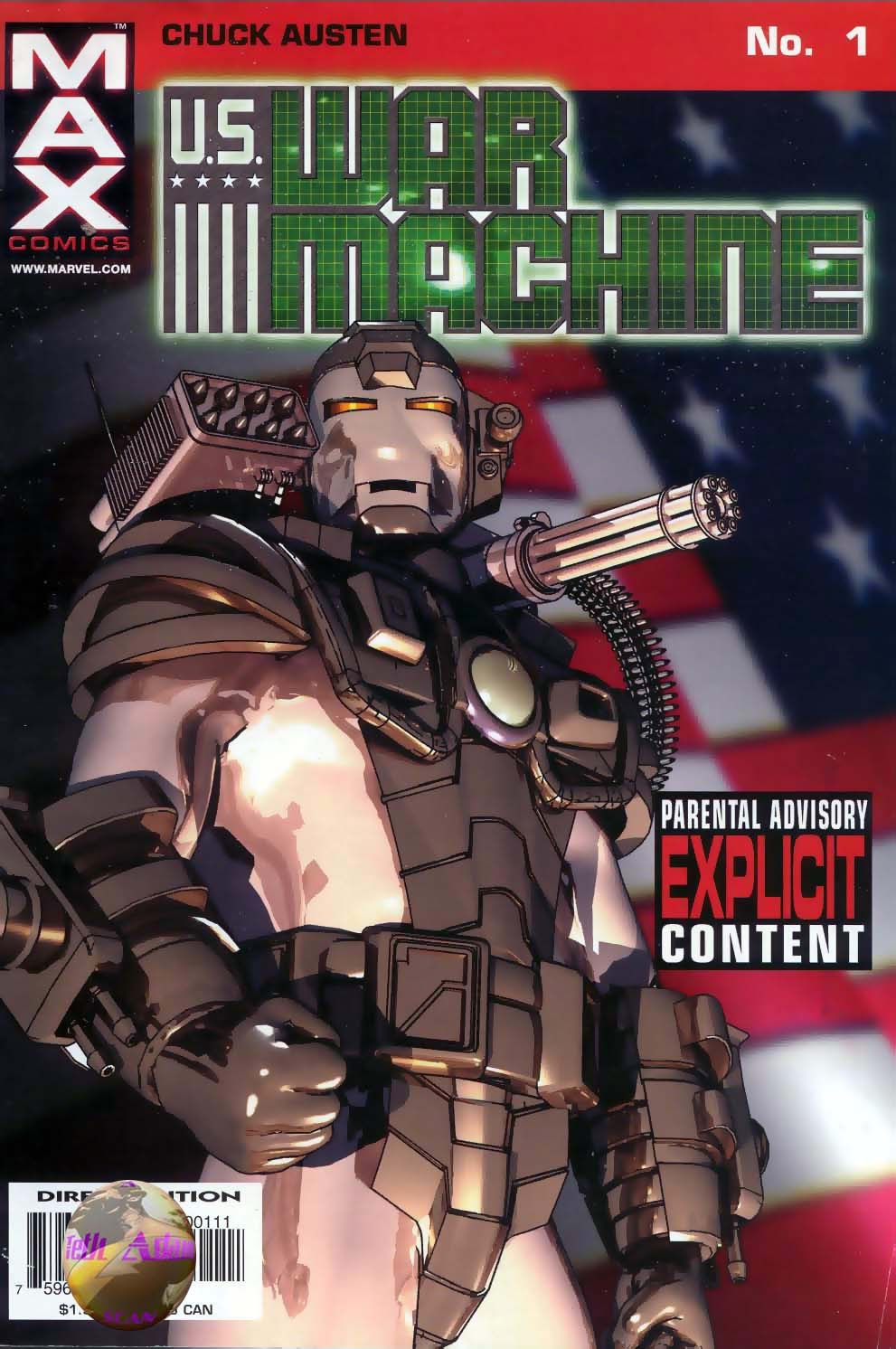 Read online U.S. War Machine comic -  Issue #1 - 1