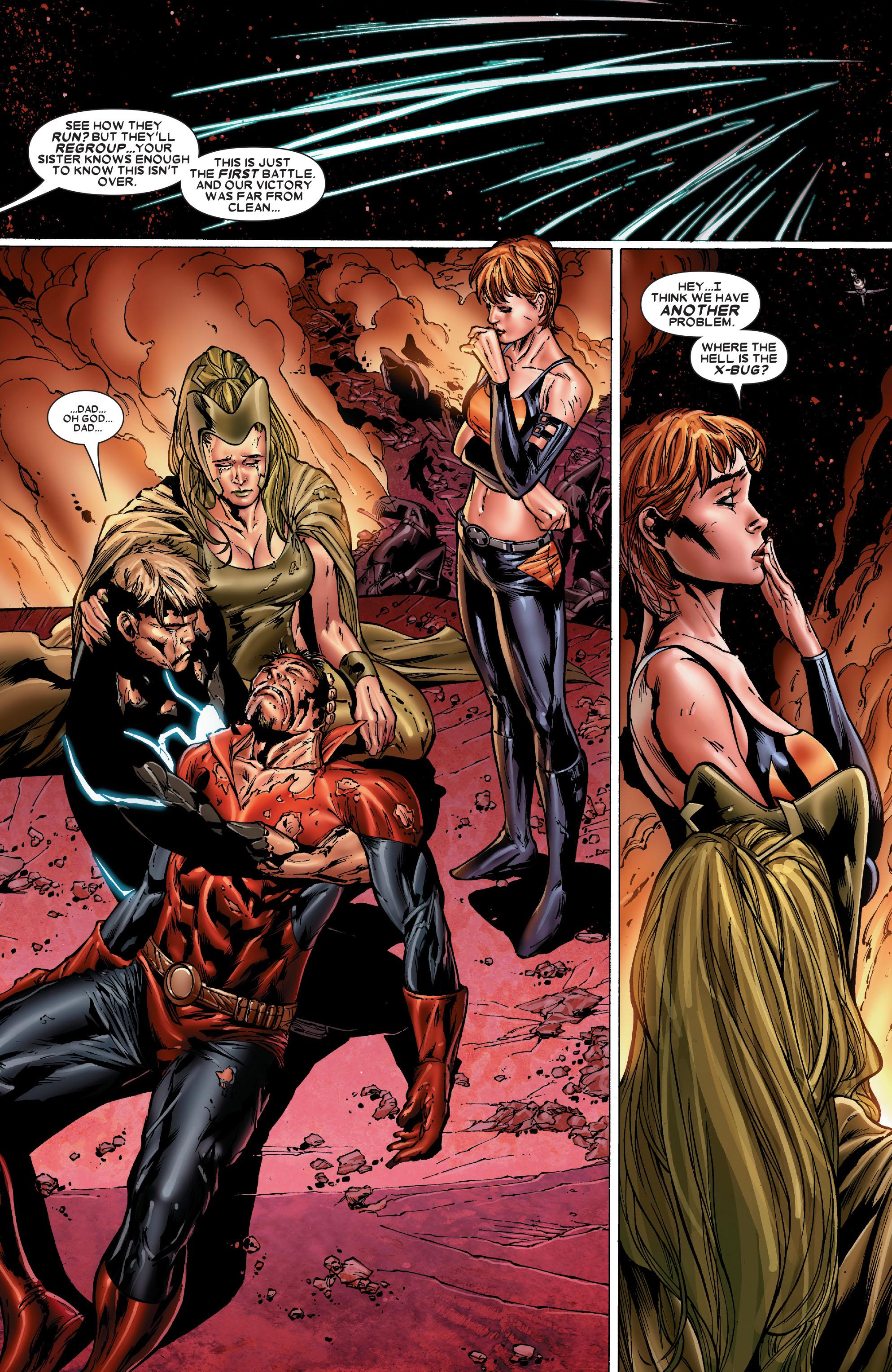 Read online Uncanny X-Men (1963) comic -  Issue #486 - 19
