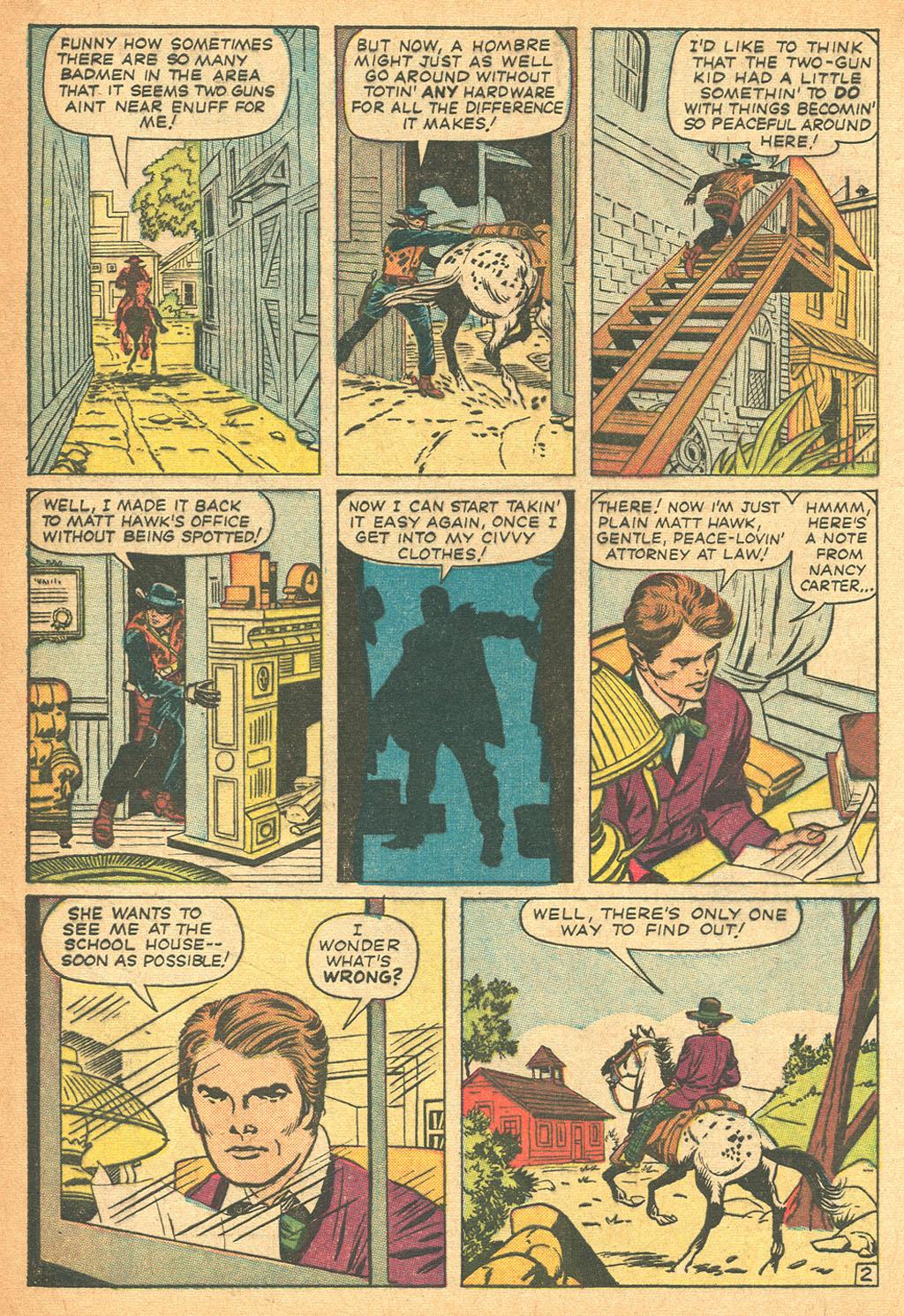 Read online Two-Gun Kid comic -  Issue #62 - 4