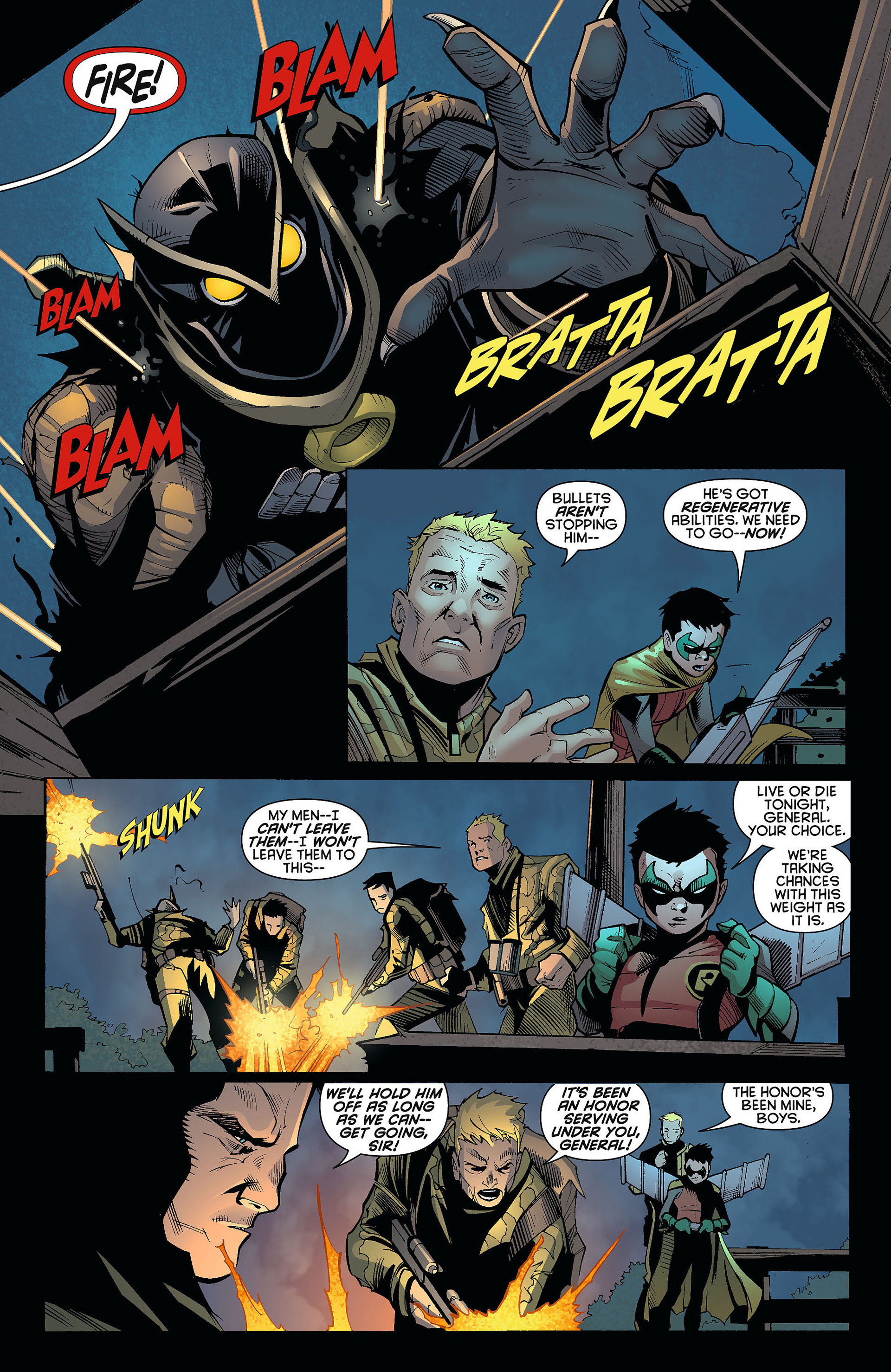 Read online Batman and Robin (2011) comic -  Issue #9 - 8