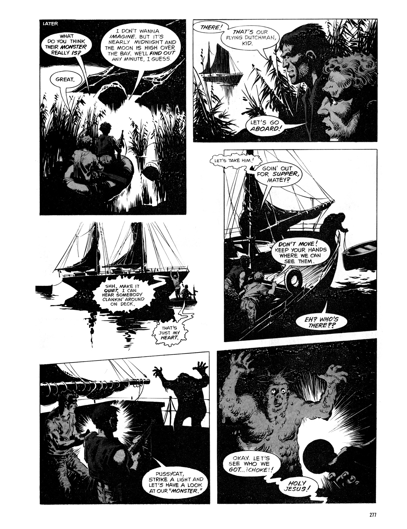 Read online Eerie Archives comic -  Issue # TPB 16 - 278