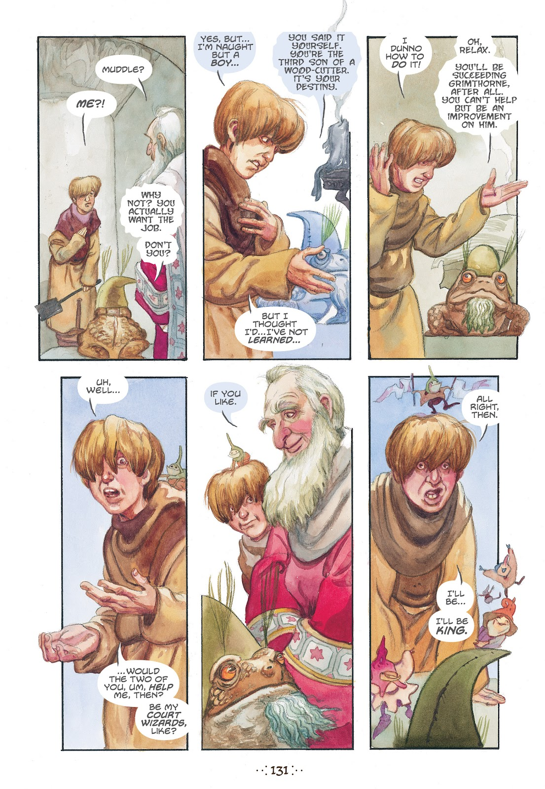 Read online The Wizard's Tale comic -  Issue # TPB - 124