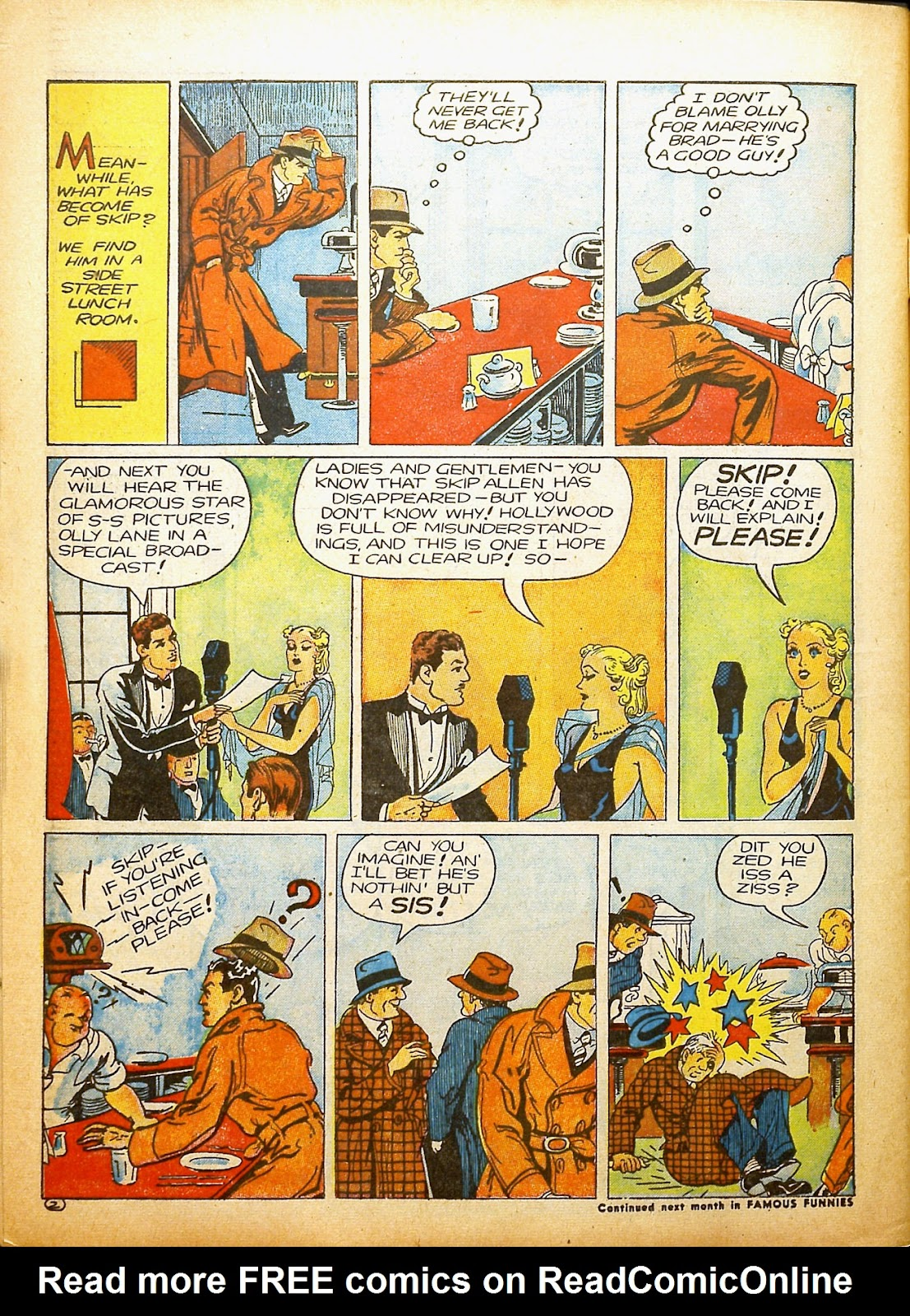 Read online Famous Funnies comic -  Issue #91 - 57