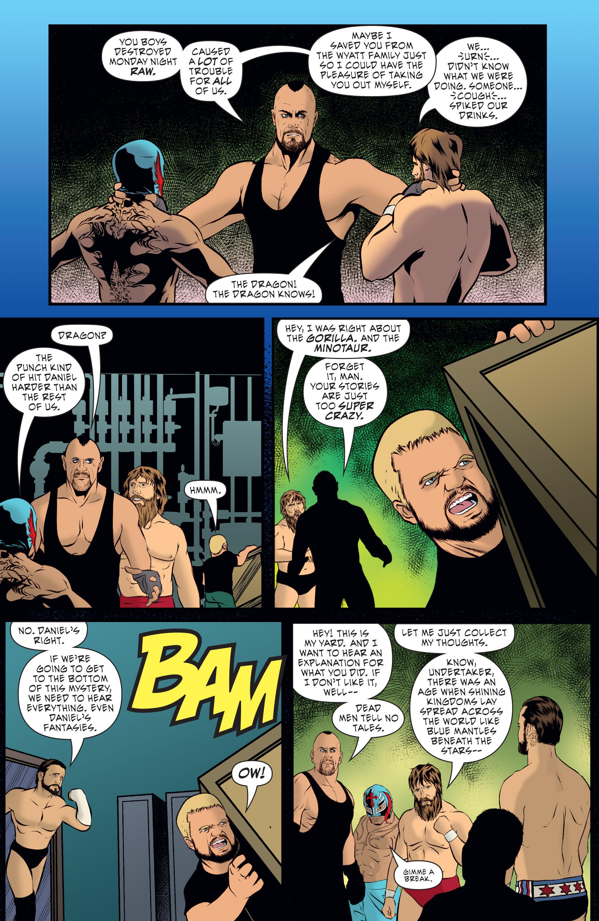 Read online WWE Superstars comic -  Issue #7 - 9