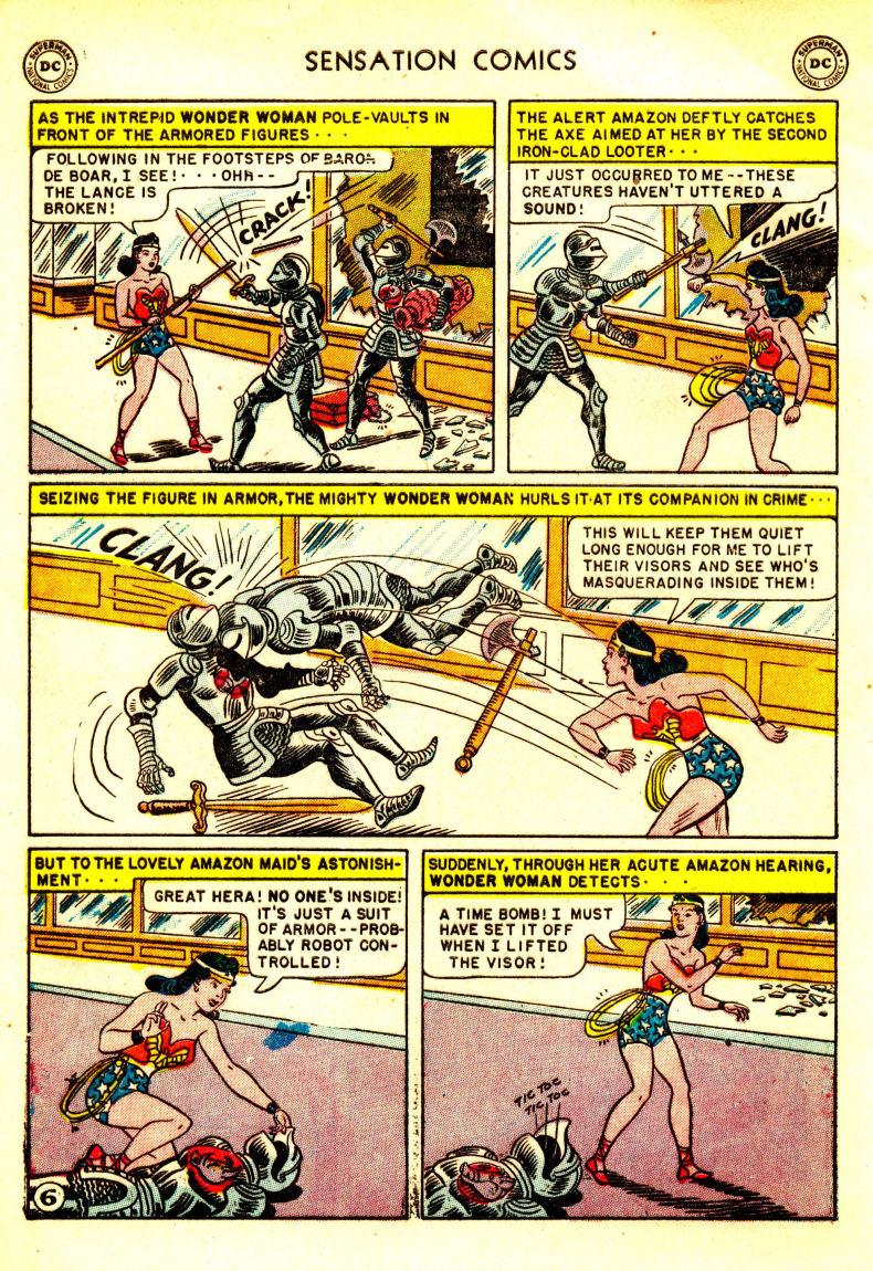 Read online Sensation (Mystery) Comics comic -  Issue #106 - 8