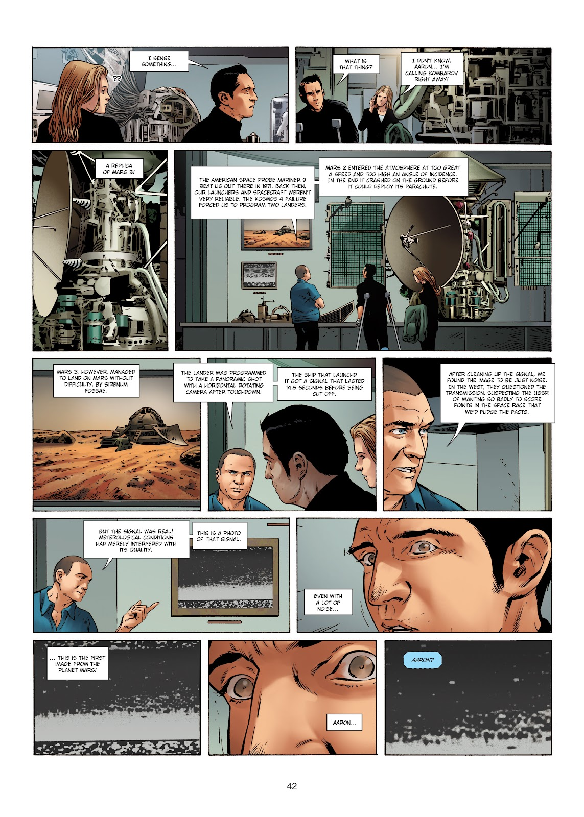 Read online Olympus Mons Vol. 1: Anomaly One comic -  Issue #4 - 40