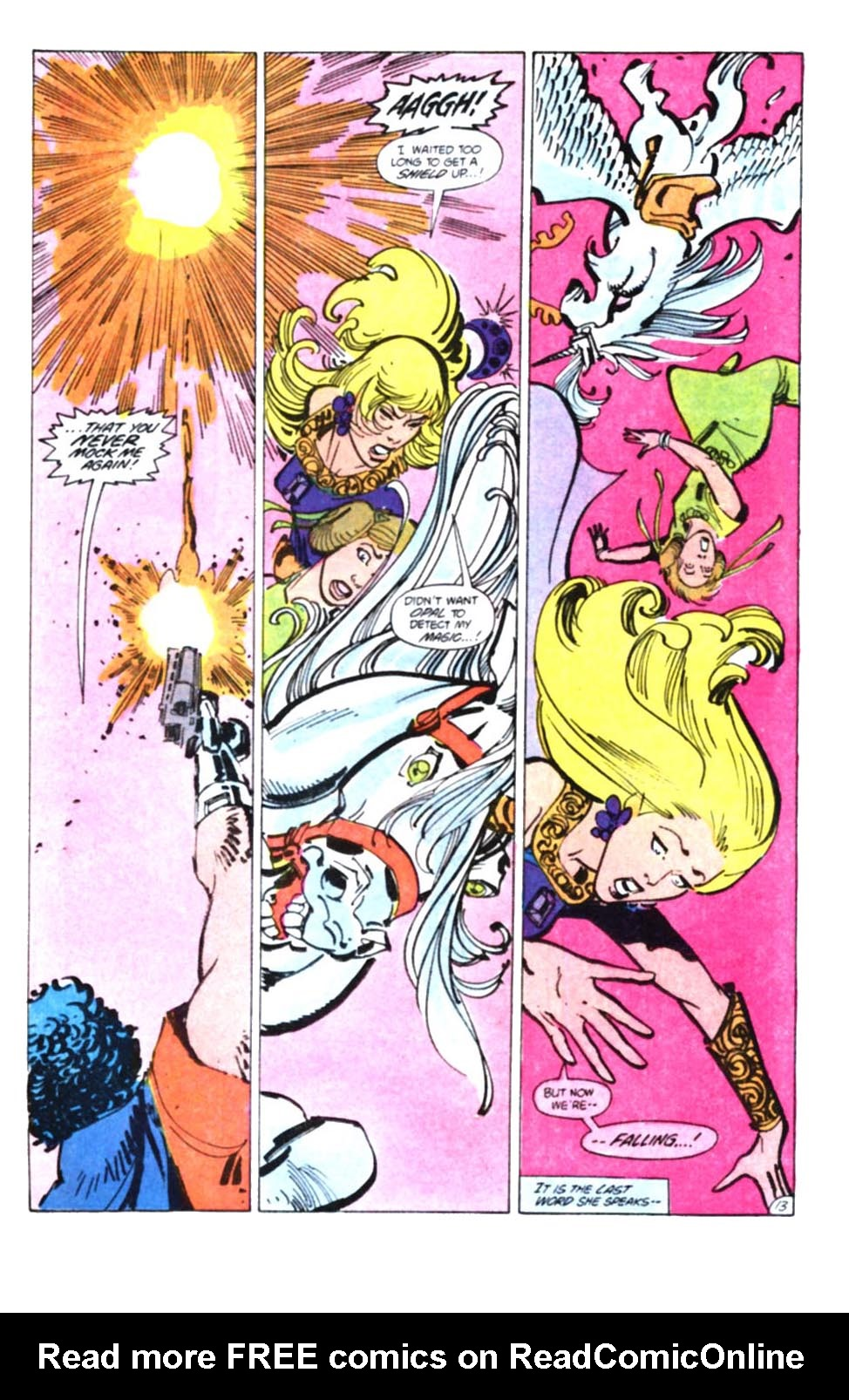 Read online Amethyst, Princess of Gemworld comic -  Issue #10 - 14