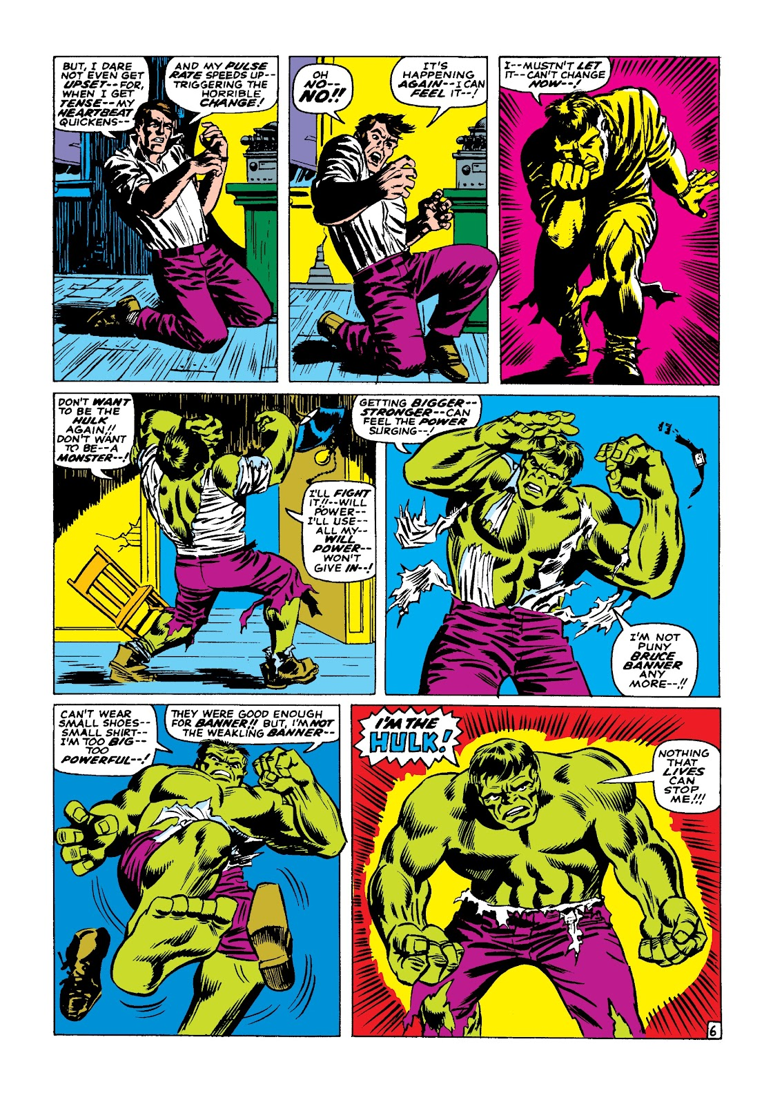 Read online Marvel Masterworks: The Incredible Hulk comic -  Issue # TPB 3 (Part 2) - 45