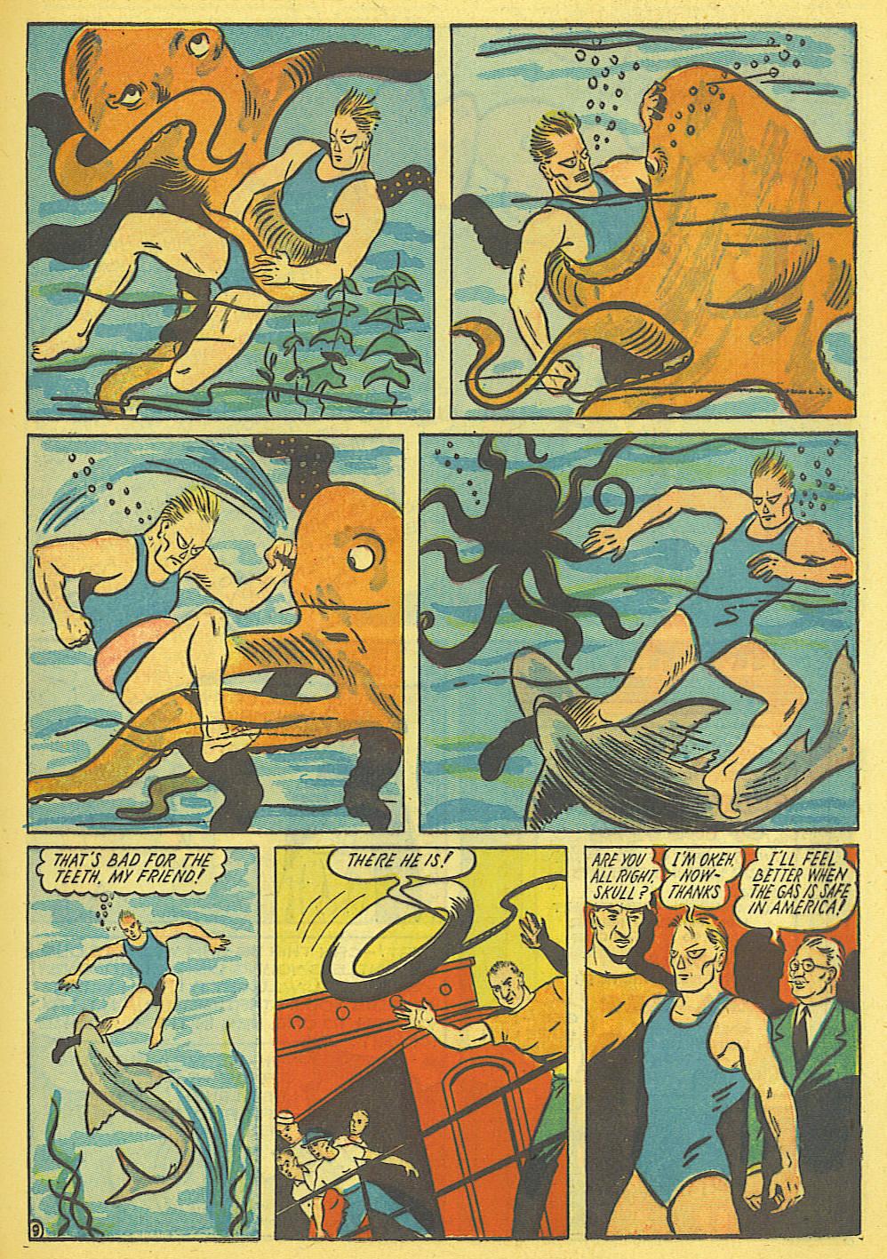 Read online Amazing Man Comics comic -  Issue #19 - 23