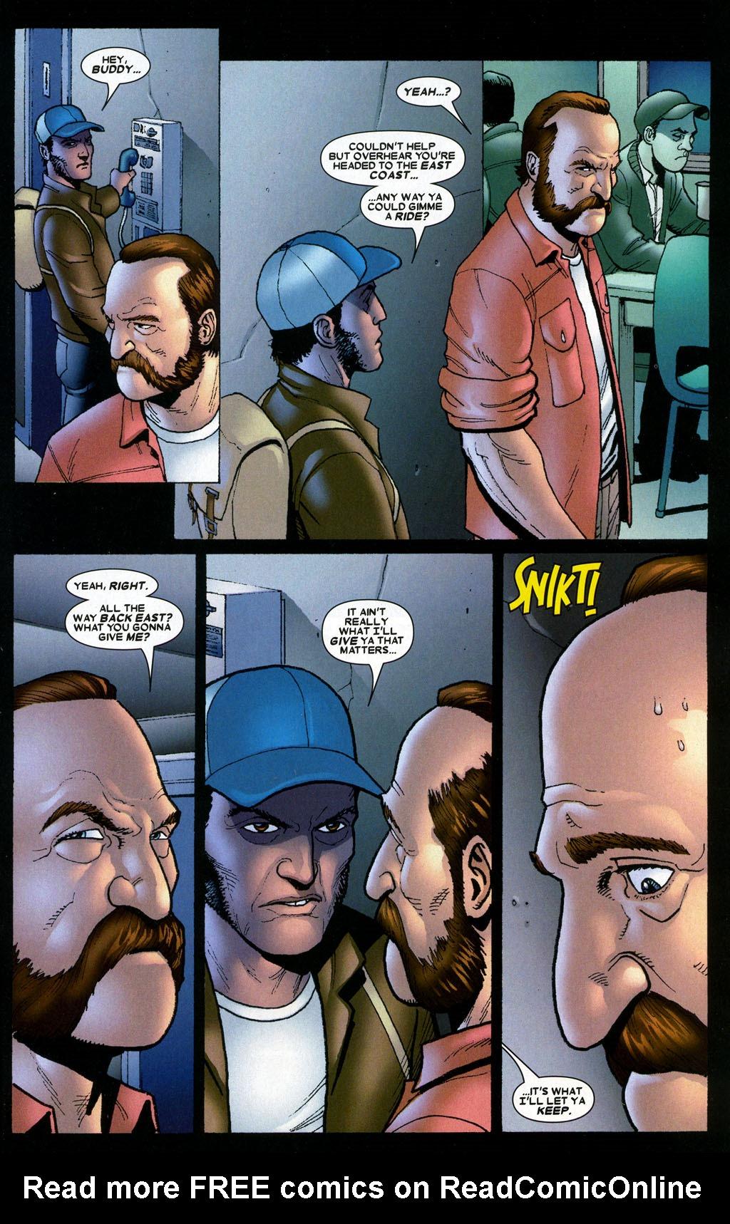 Read online Wolverine: Origins comic -  Issue #6 - 18