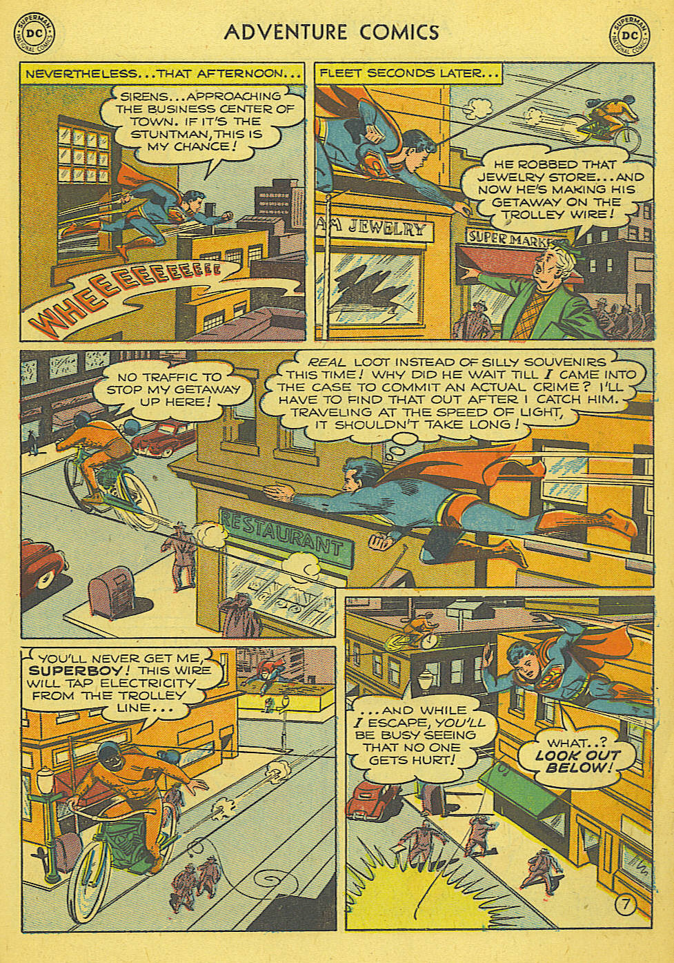 Read online Adventure Comics (1938) comic -  Issue #165 - 8