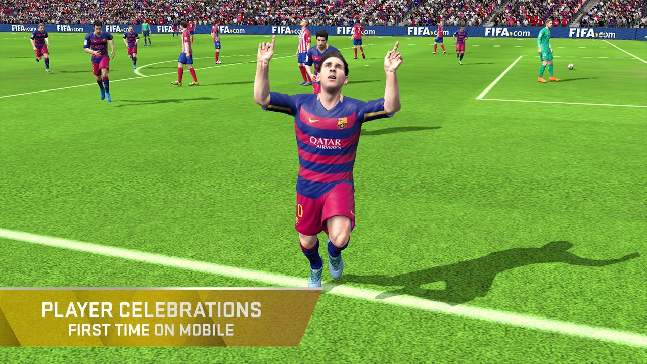 Permainan FIFA 16 Ultimate Team Apk+data terbaru 2016