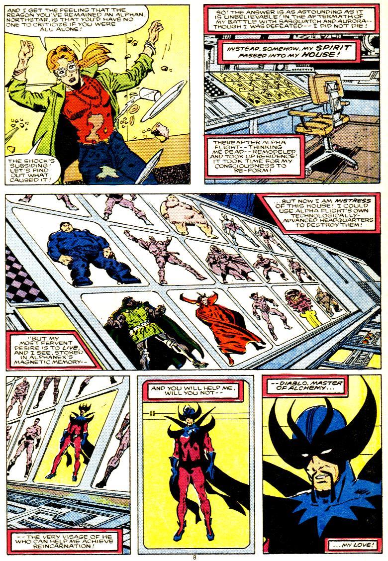 Read online Alpha Flight (1983) comic -  Issue # _Annual 1 - 9