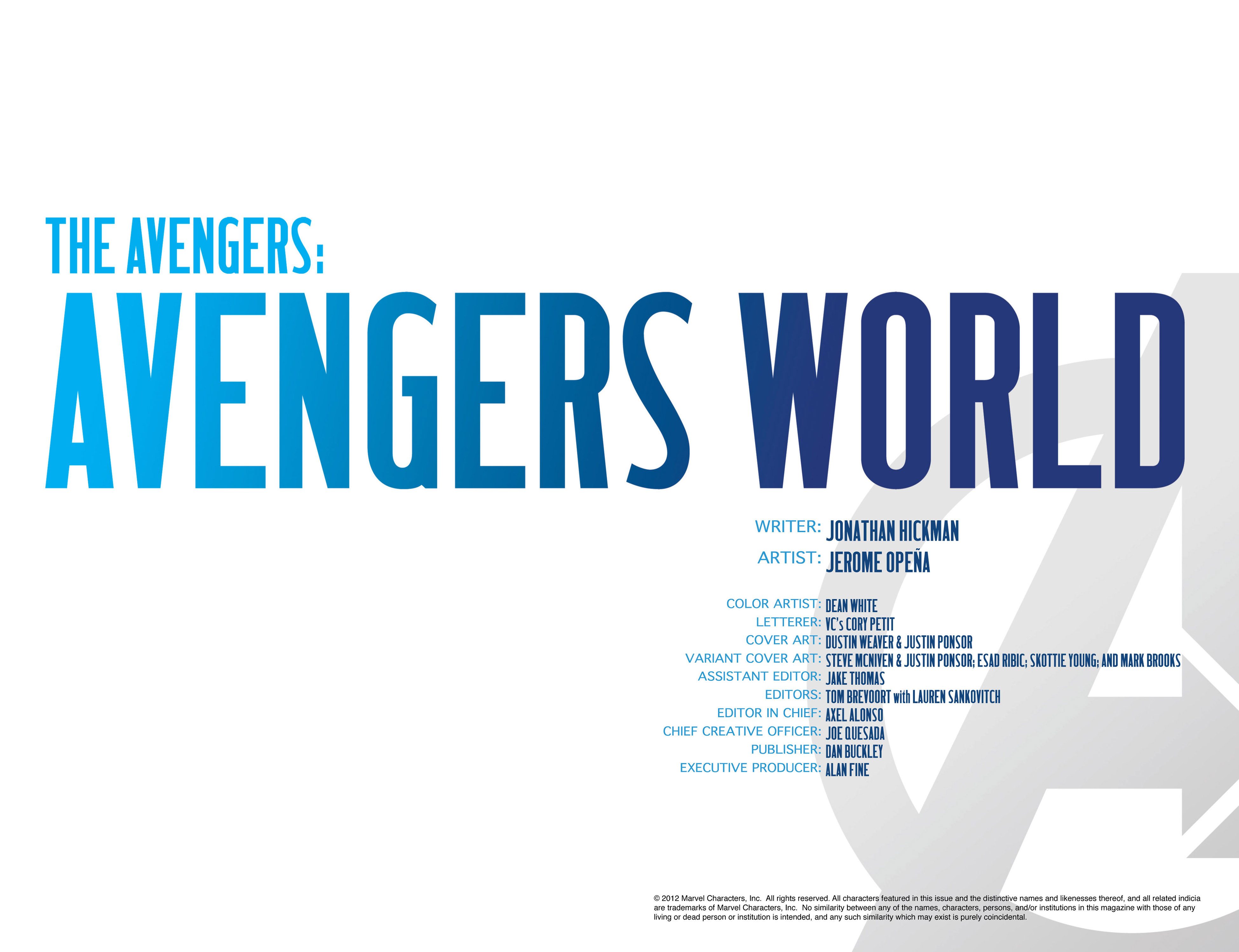 Read online Avengers (2013) comic -  Issue #1 - 9