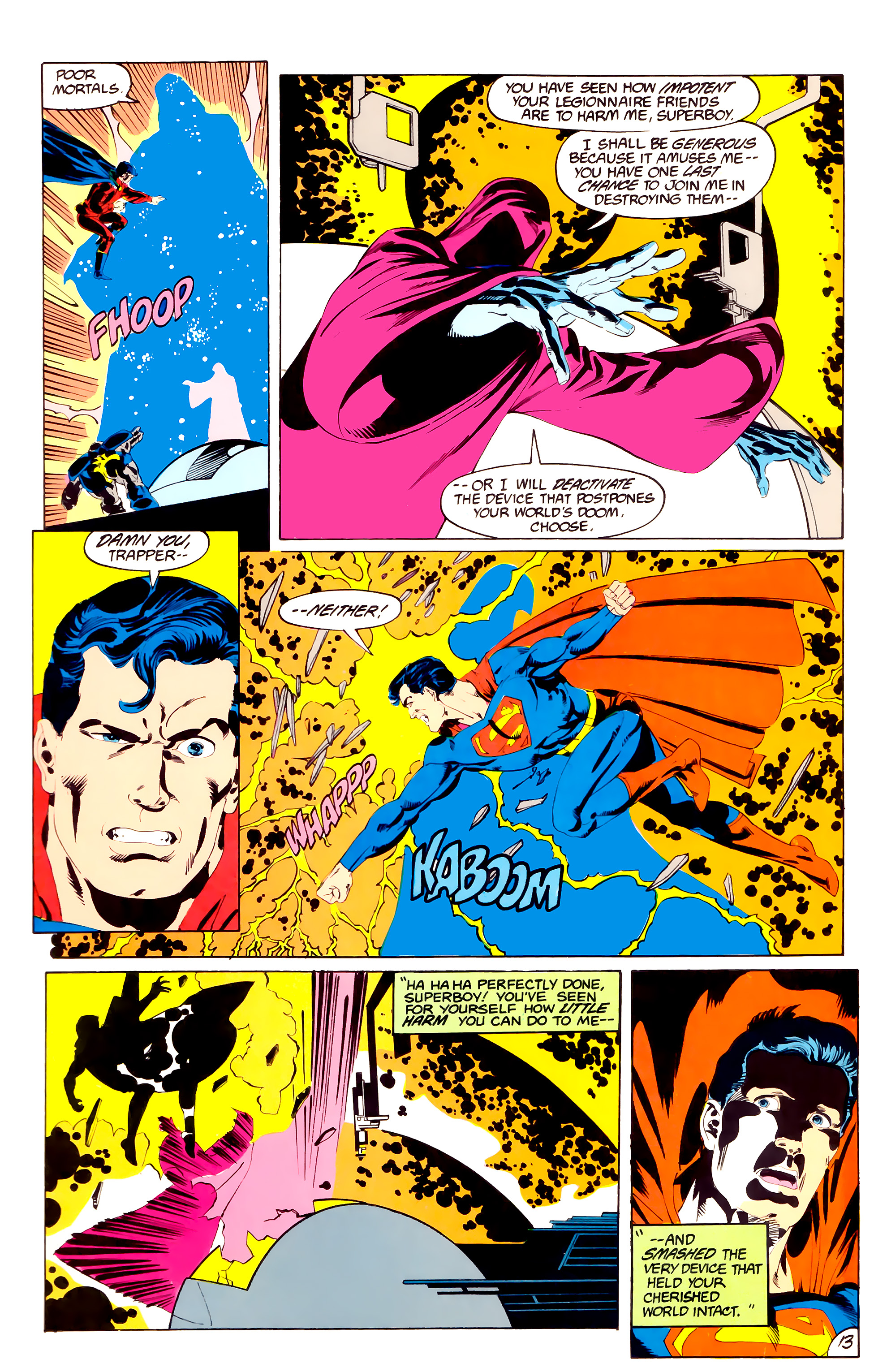 Legion of Super-Heroes (1984) 38 Page 13