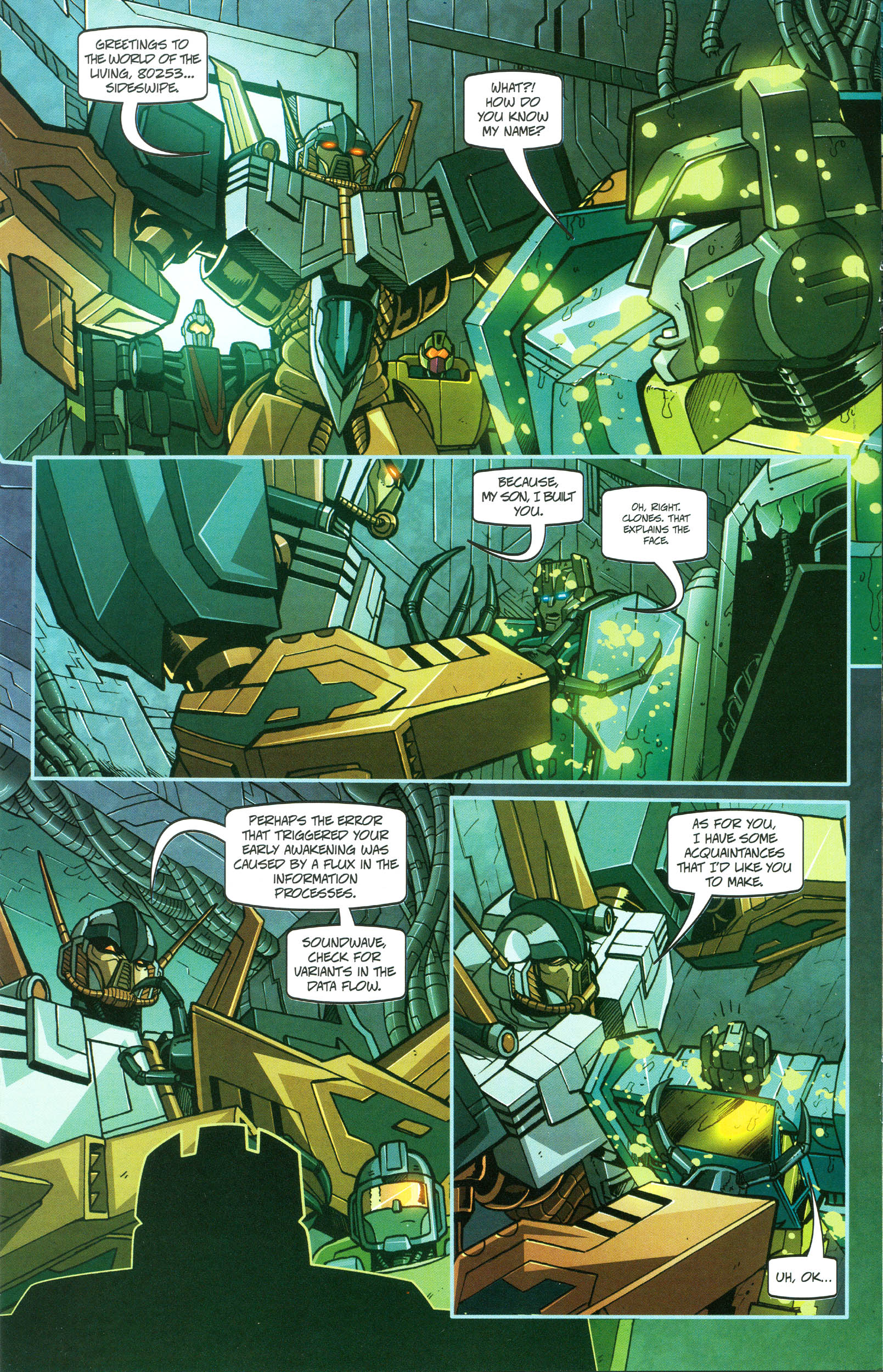 Read online Transformers: Collectors' Club comic -  Issue #47 - 10
