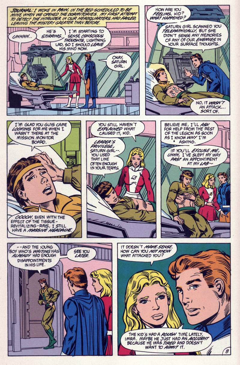 Legion of Super-Heroes (1984) 59 Page 8
