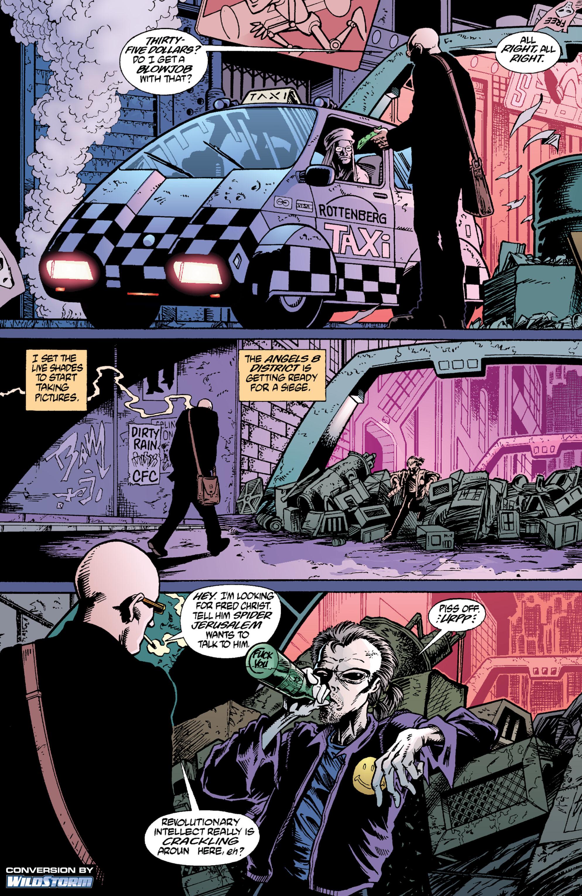 Read online Transmetropolitan comic -  Issue #2 - 2