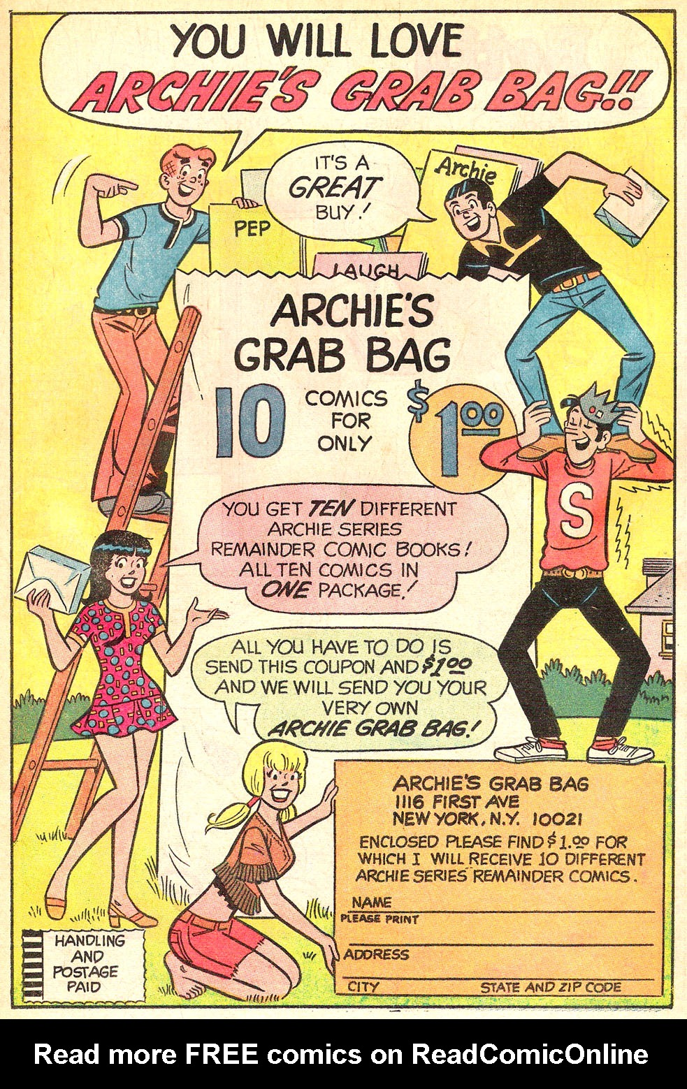 Read online Archie's Girls Betty and Veronica comic -  Issue #177 - 19