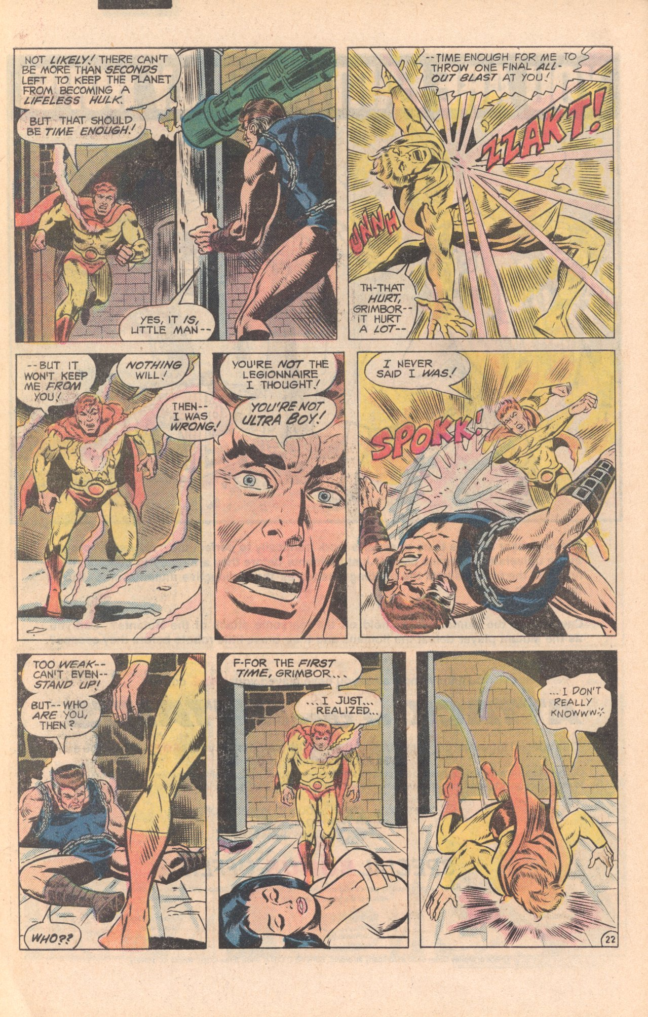 Legion of Super-Heroes (1980) 279 Page 22