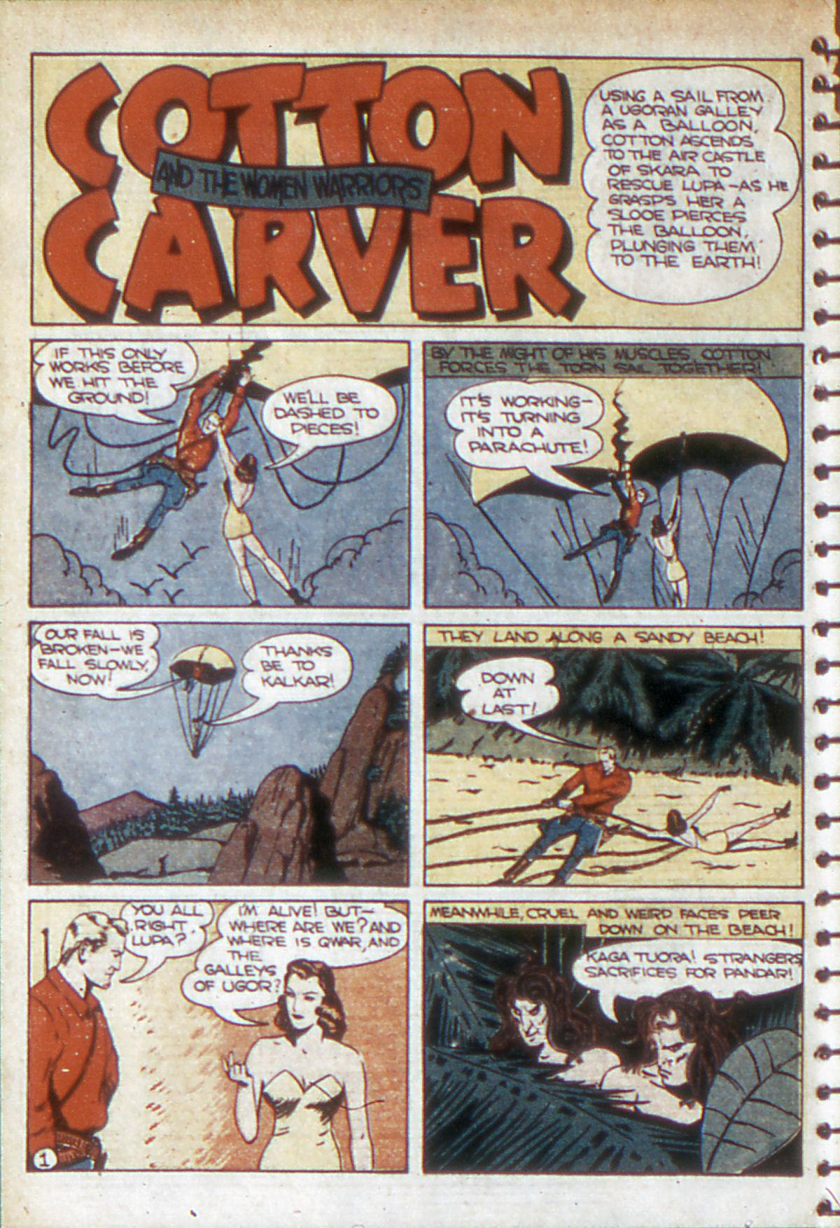 Read online Adventure Comics (1938) comic -  Issue #53 - 35