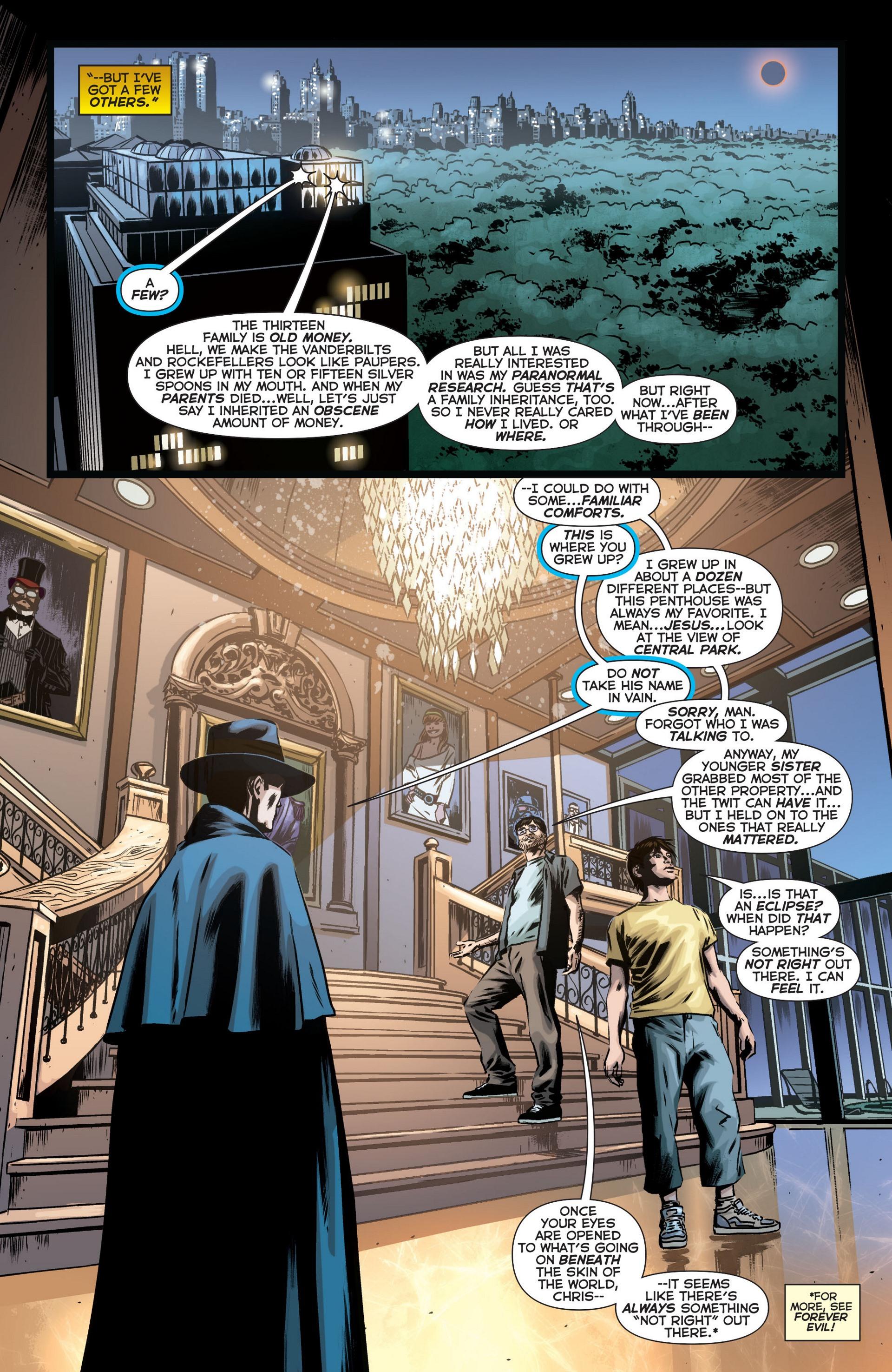 Read online Trinity of Sin: The Phantom Stranger comic -  Issue #12 - 18