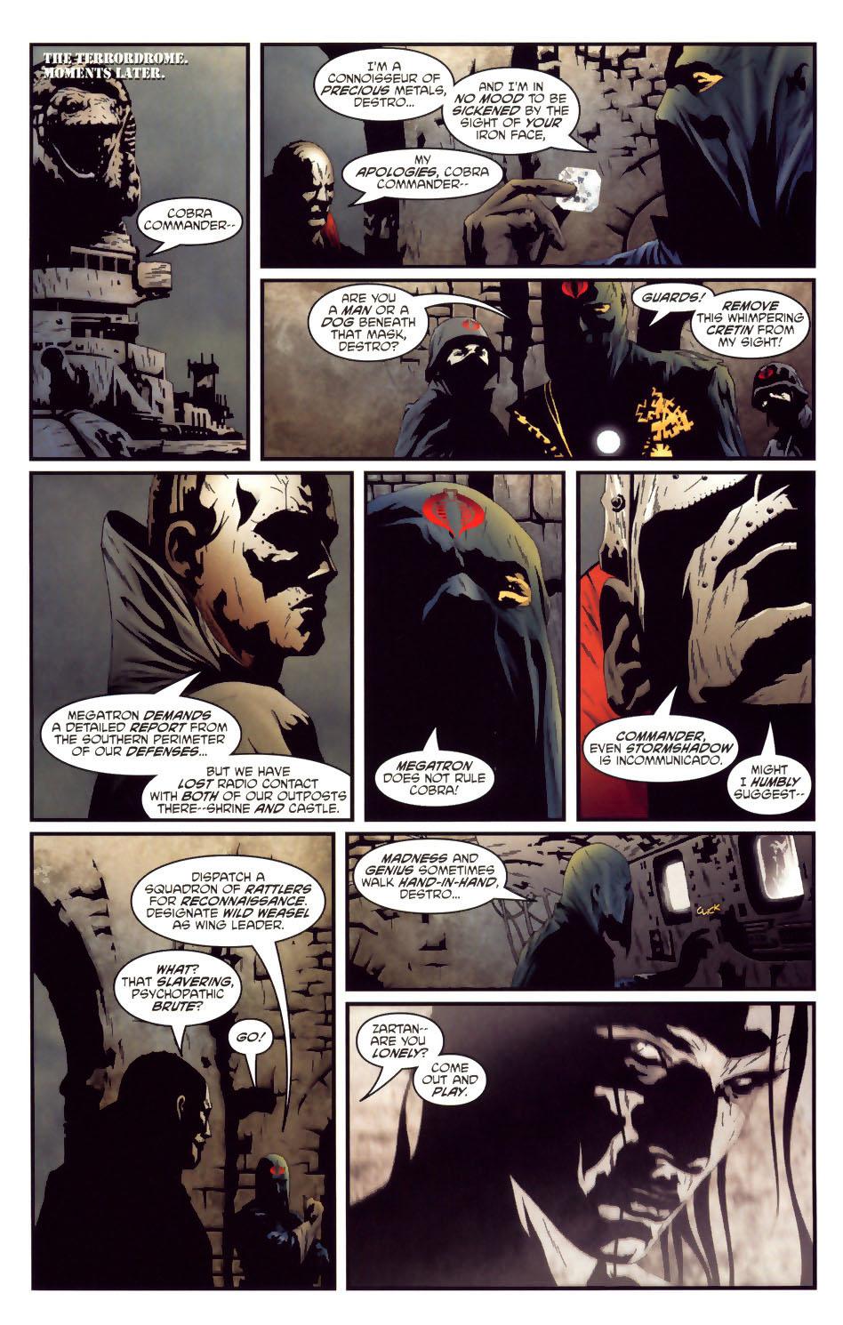 Read online Transformers/G.I. Joe comic -  Issue #2 - 18
